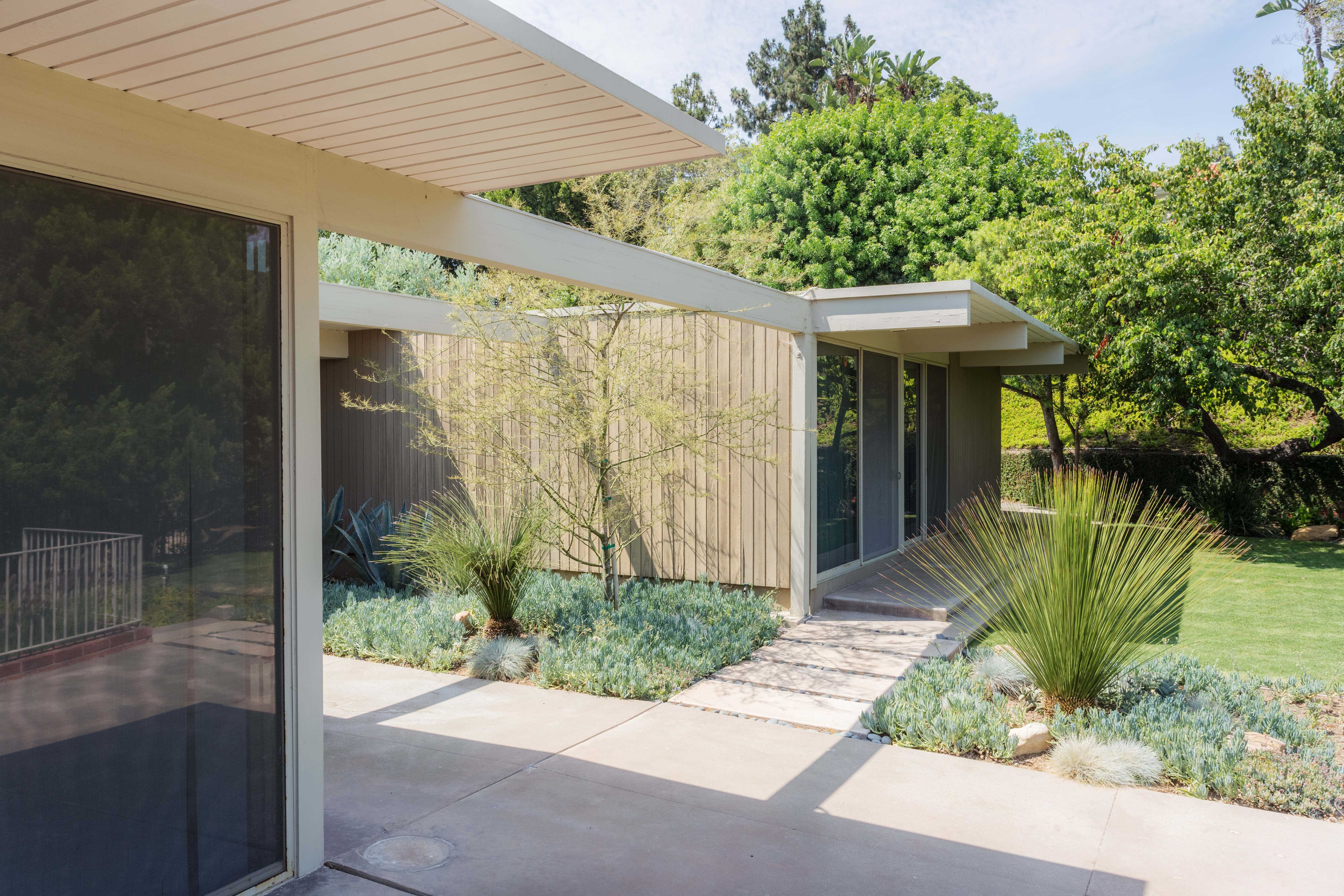 Modern homes los angeles brentwood untouched 1960 mid century modern - Pristine Midcentury Modern Hitting The Market For First Time Since 1956 Asks 13 9m