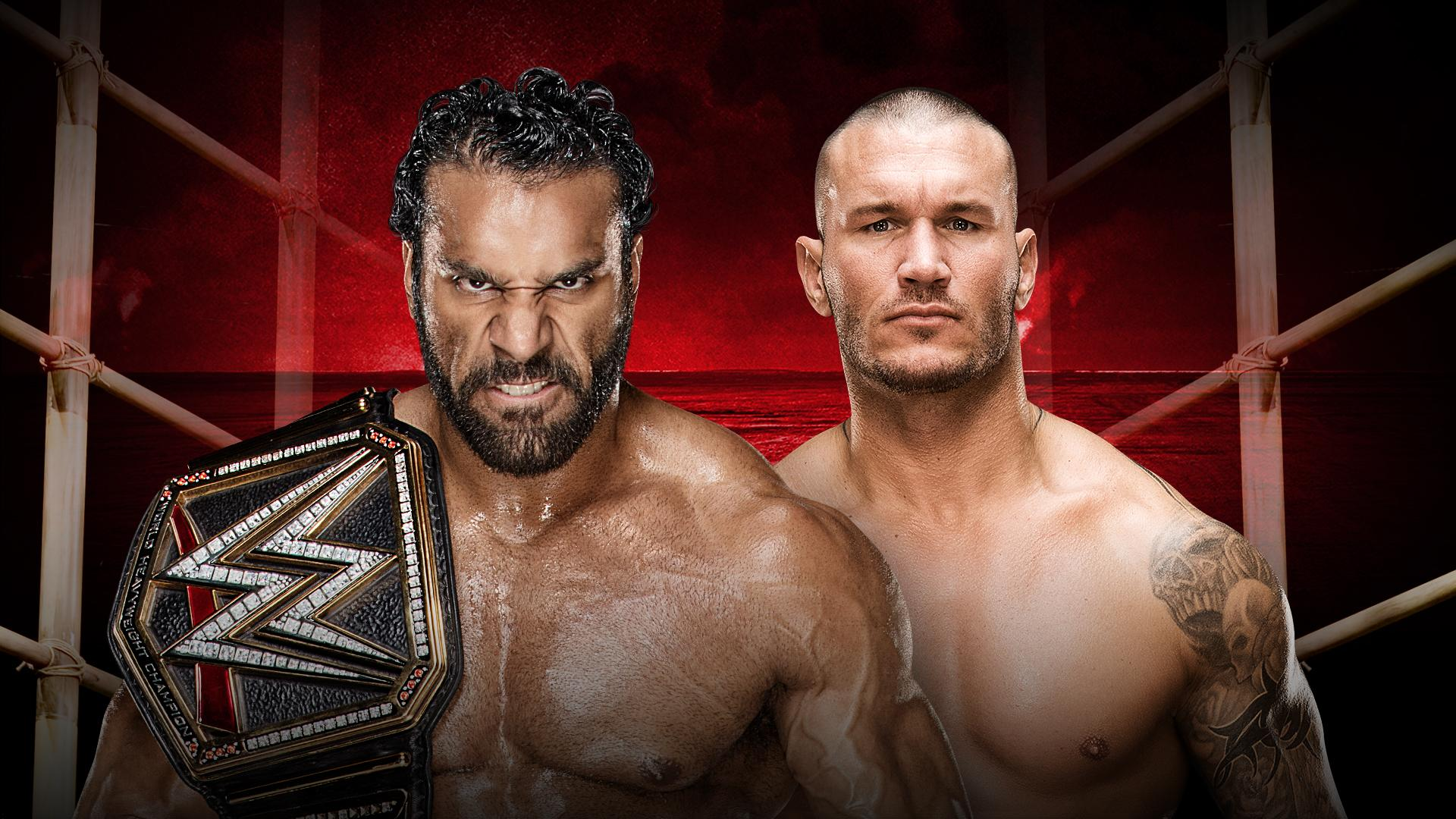 WWE Champion Jinder Mahal and Randy Orton