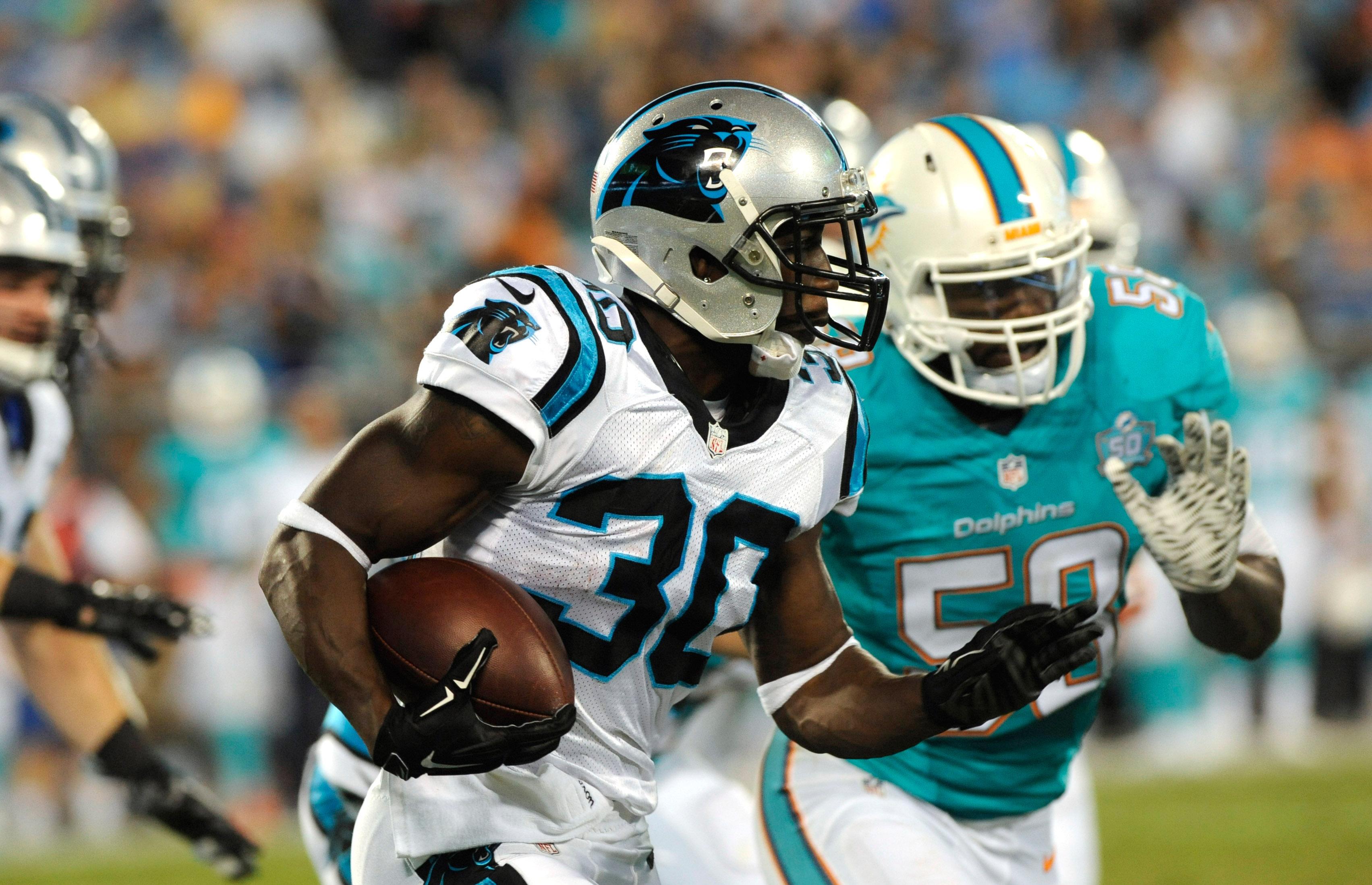 NFL: Preseason-Miami Dolphins at Carolina Panthers