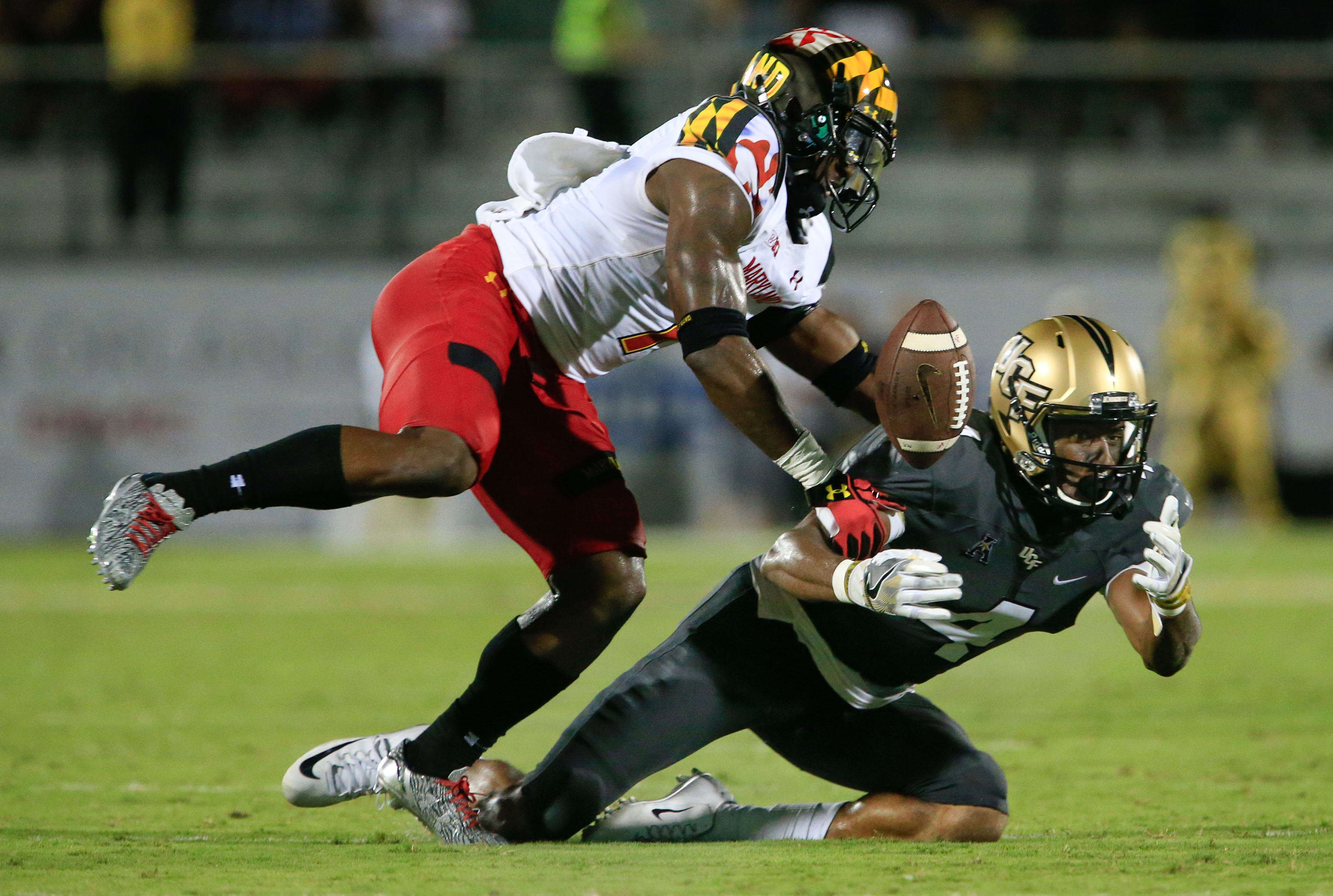 NCAA Football: Maryland at Central Florida