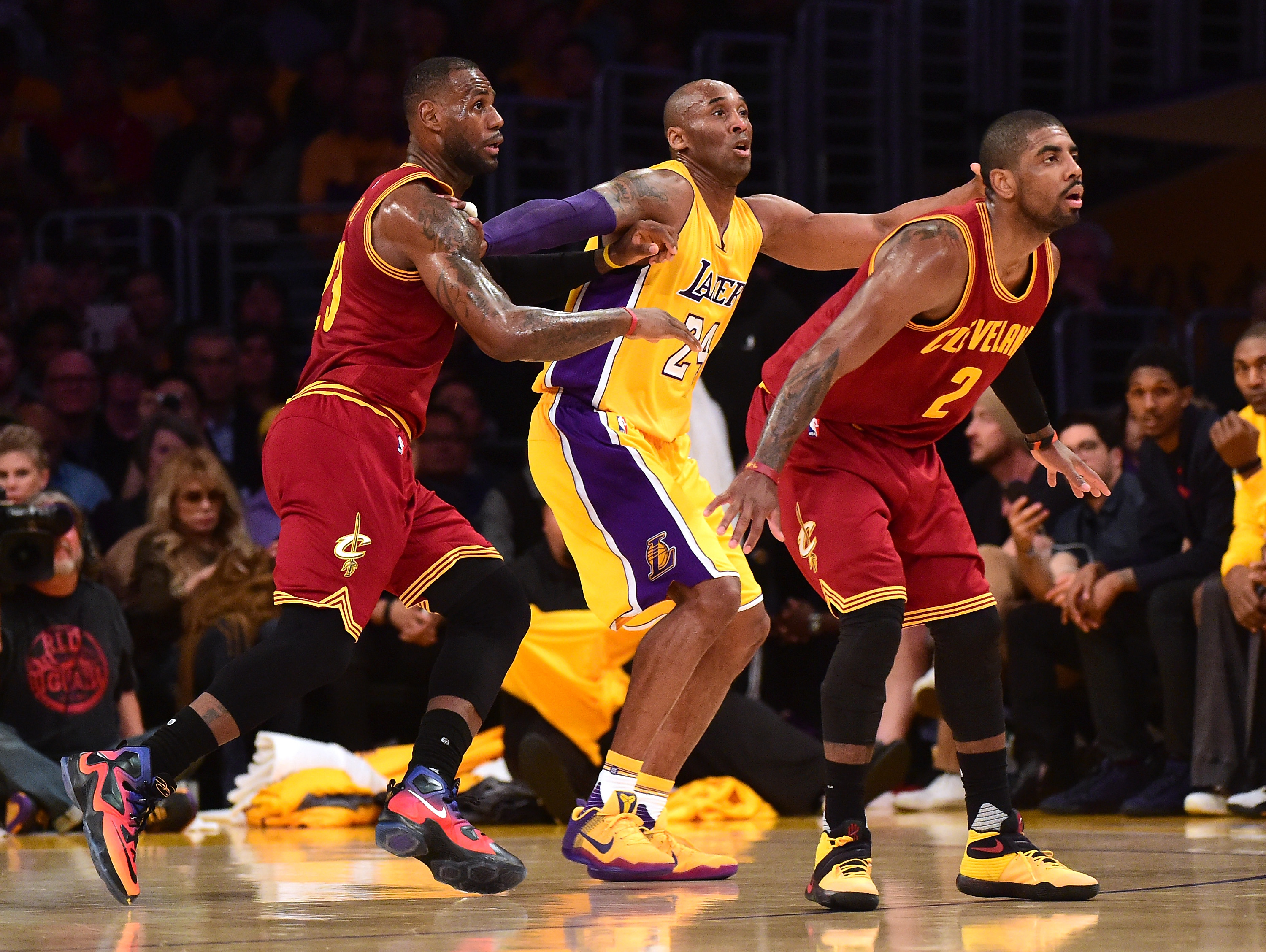 11095ca3c44 Kobe Bryant responds to Kyrie Irving influence rumors as only Kobe ...