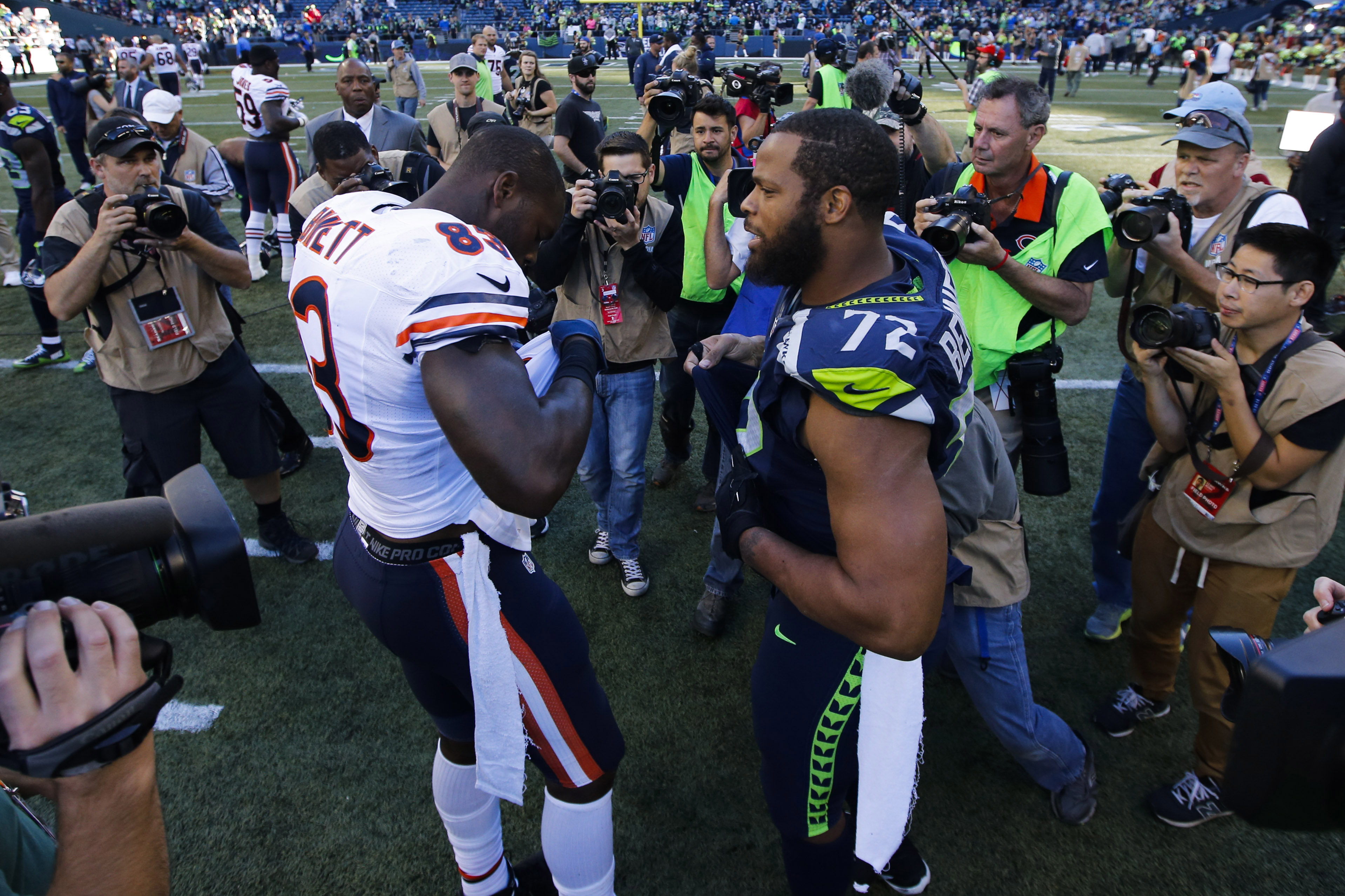 NFL: Chicago Bears at Seattle Seahawks