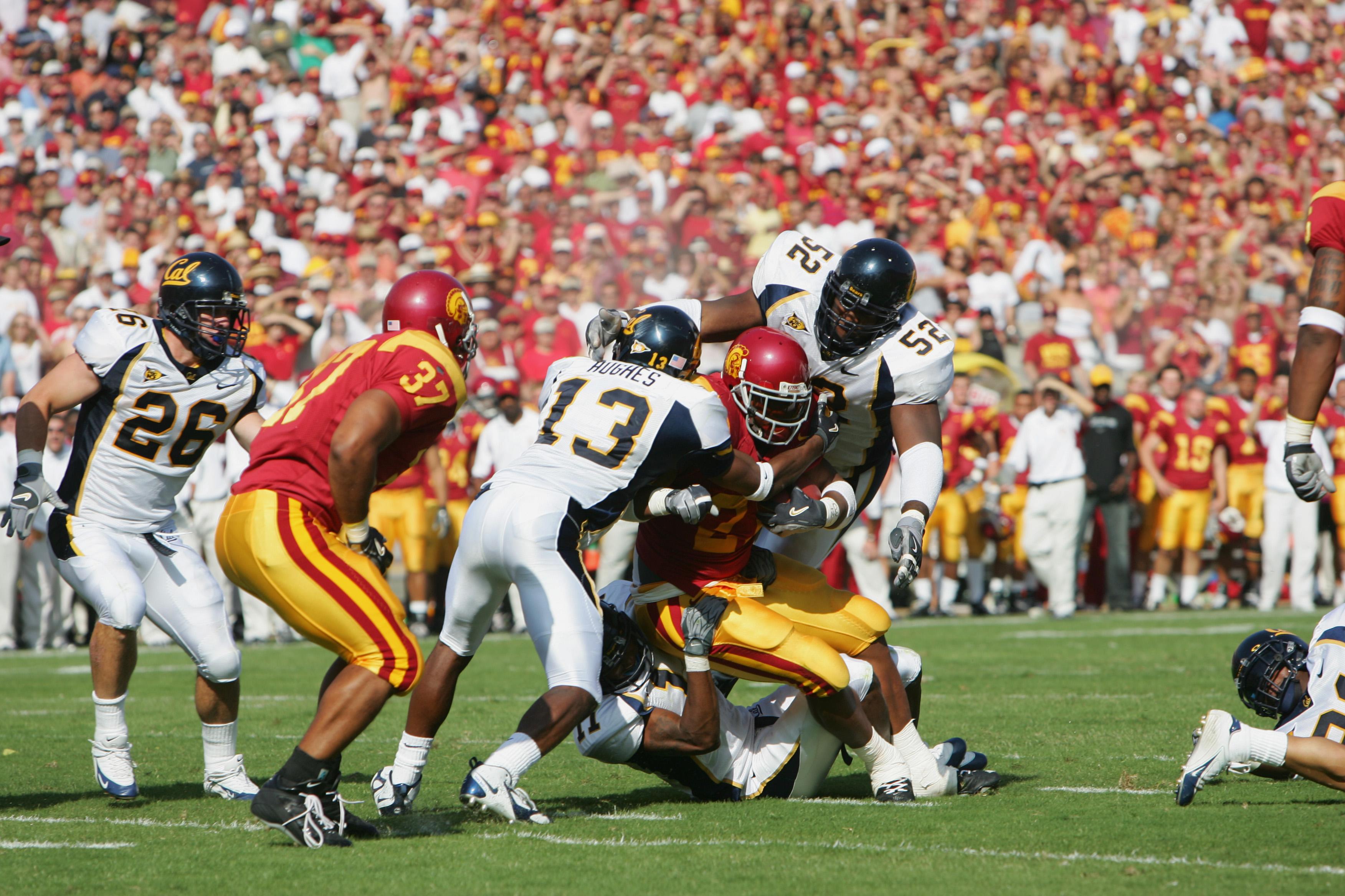 California Golden Bears v USC Trojans