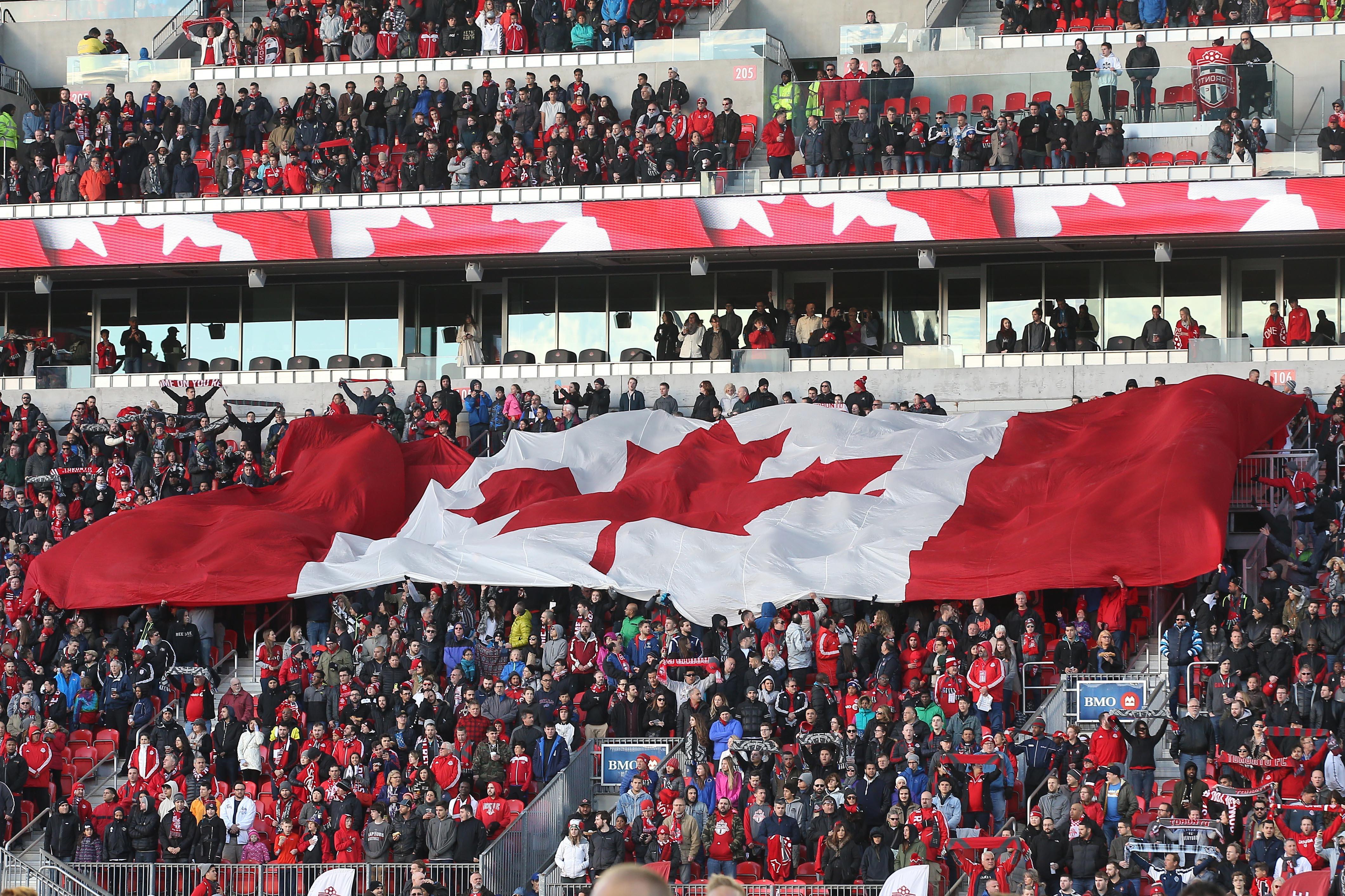 MLS: Vancouver Whitecaps FC at Toronto FC