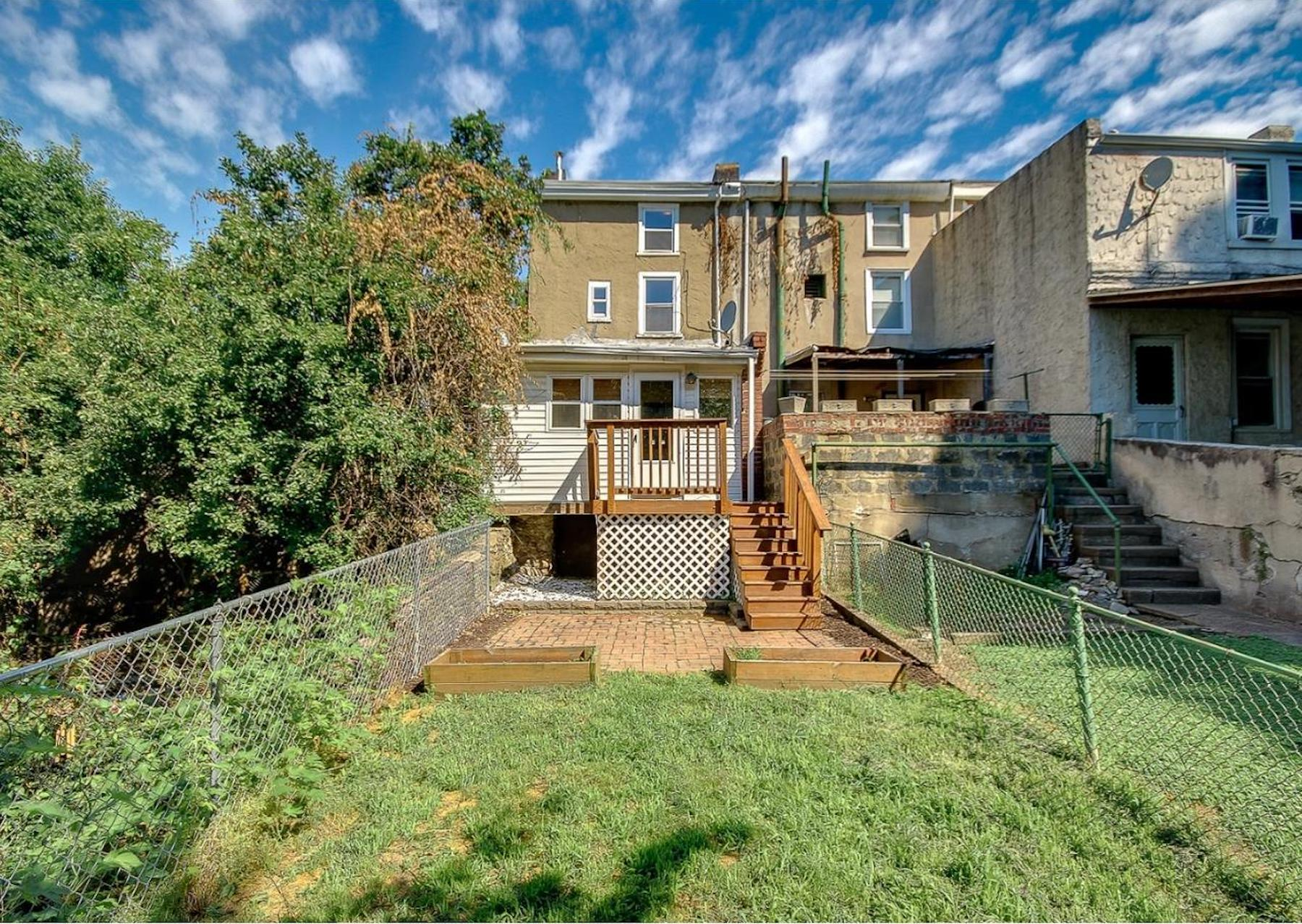 How Much For Manayunk Home With A Big Backyard?