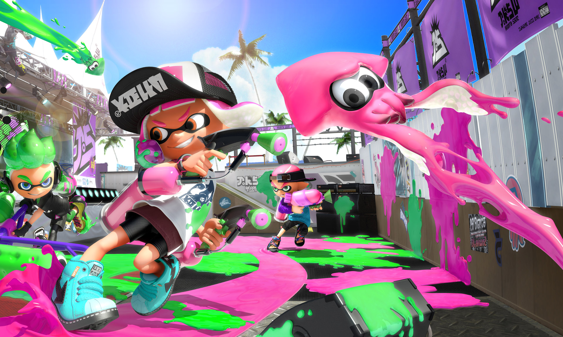 Splatoon 2 players are making some incredible, photorealistic art