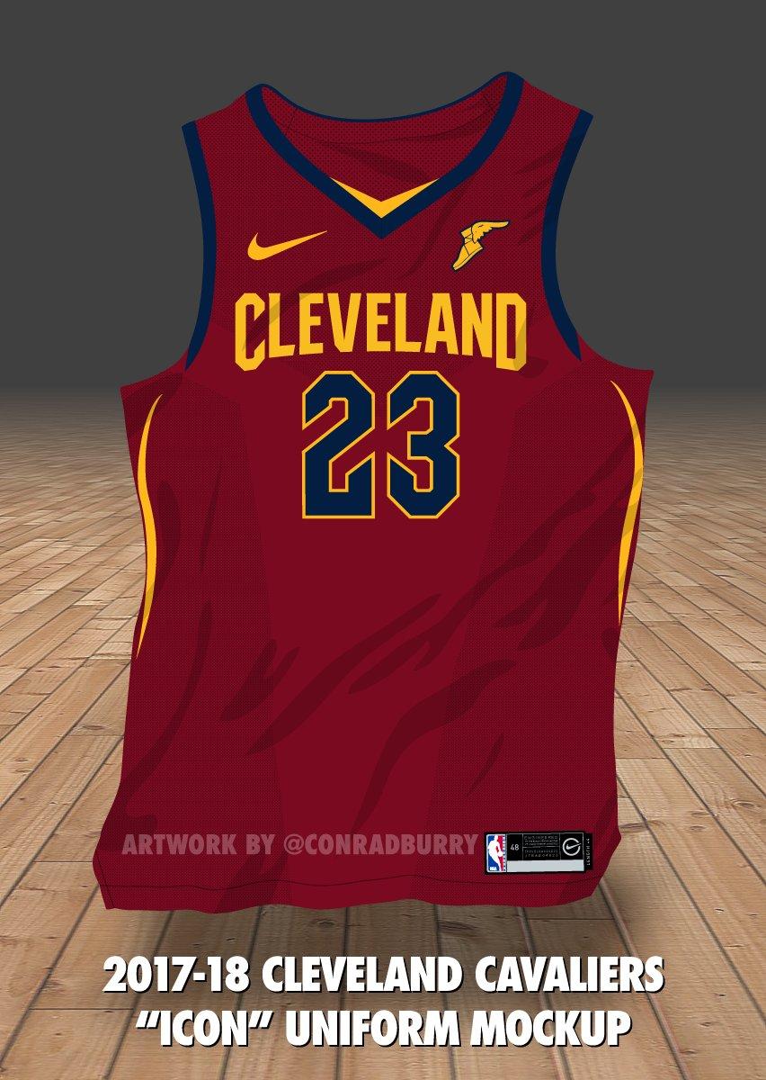 ed4b10a4ad3 Here s a first look at the Cavs  new jerseys