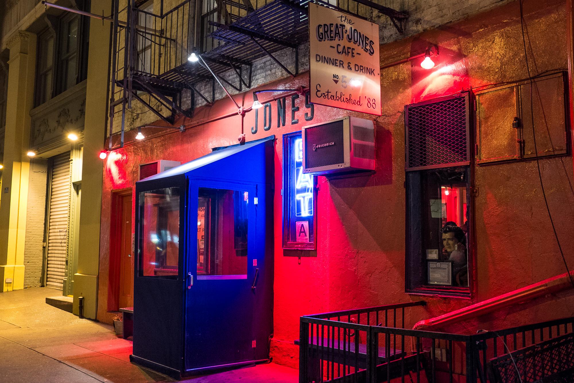 Great Jones Café