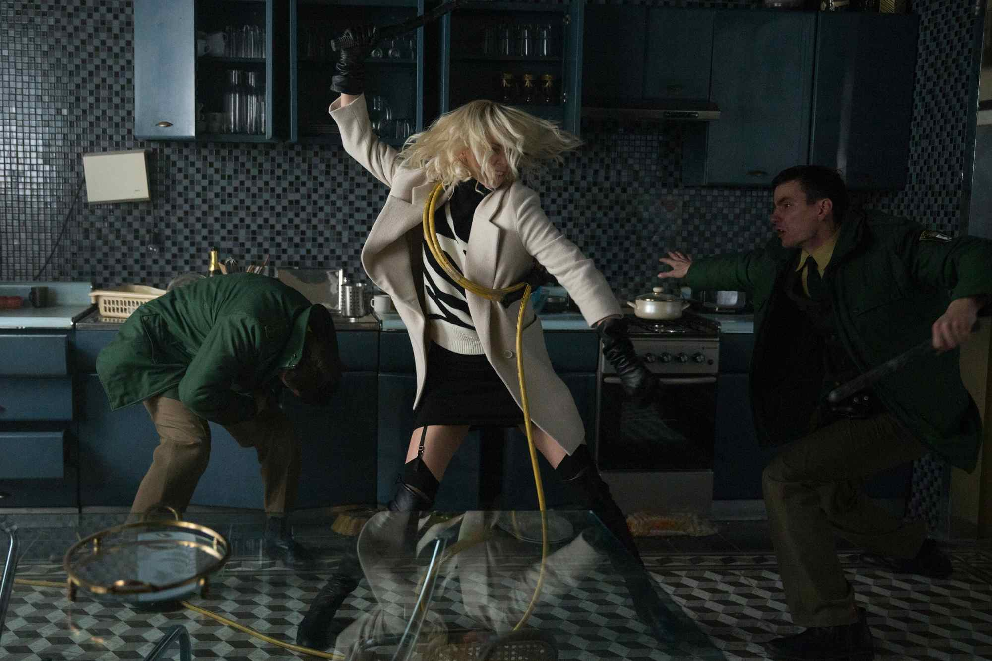 Atomic Blonde is thrilling, gorgeous nonsense. More, please!