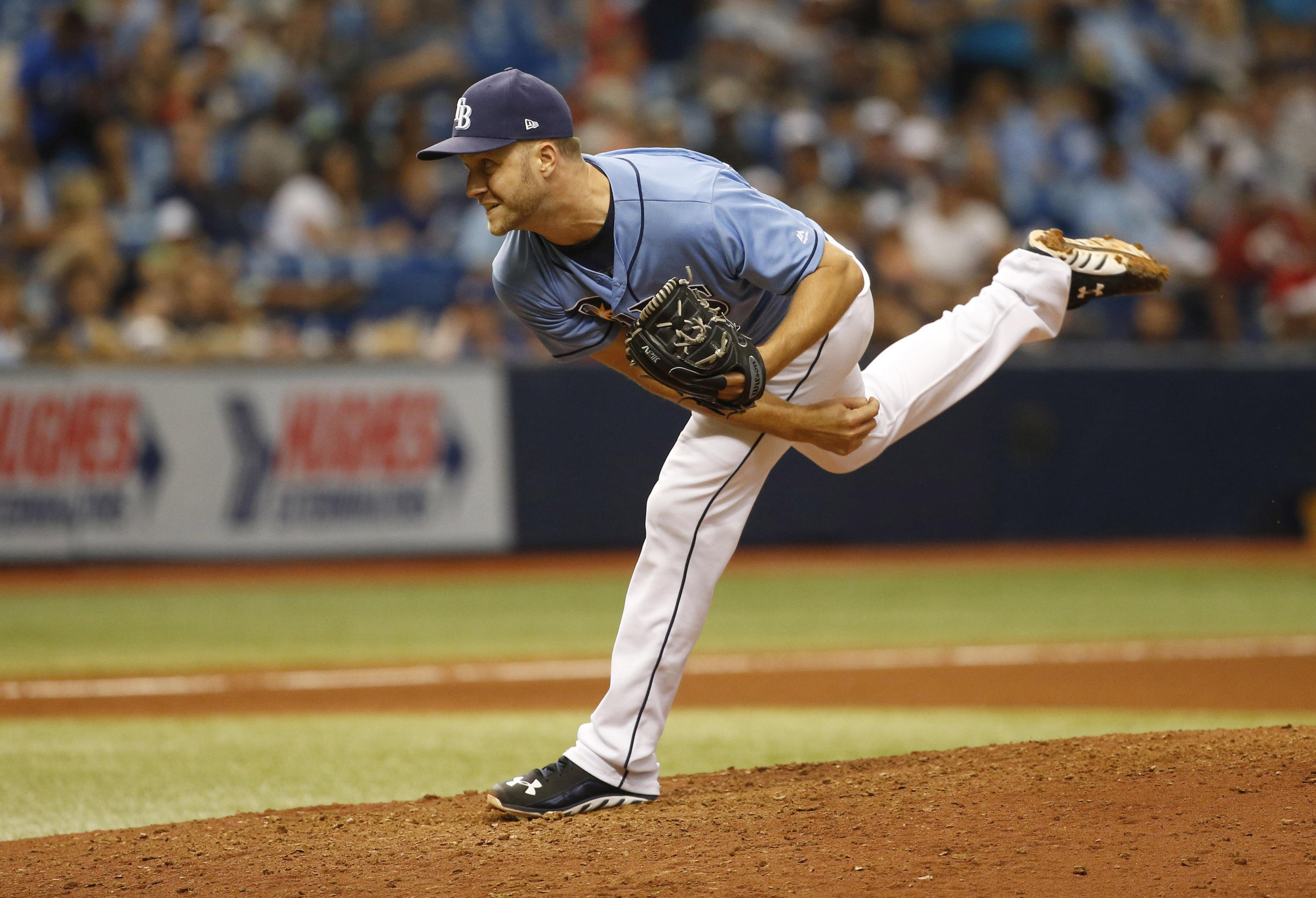 MLB: Texas Rangers at Tampa Bay Rays