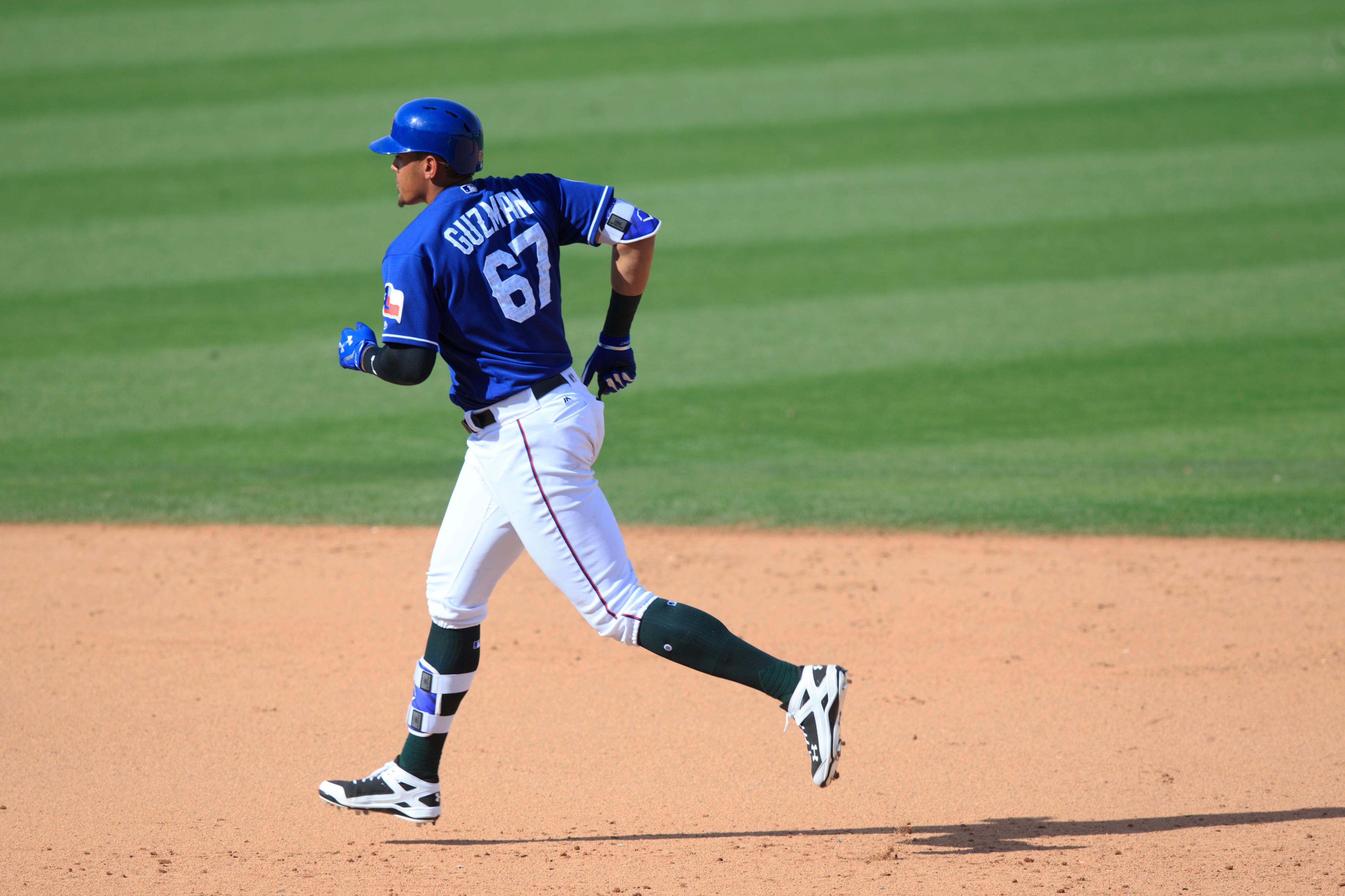 MLB: Spring Training-Los Angeles Angels at Texas Rangers
