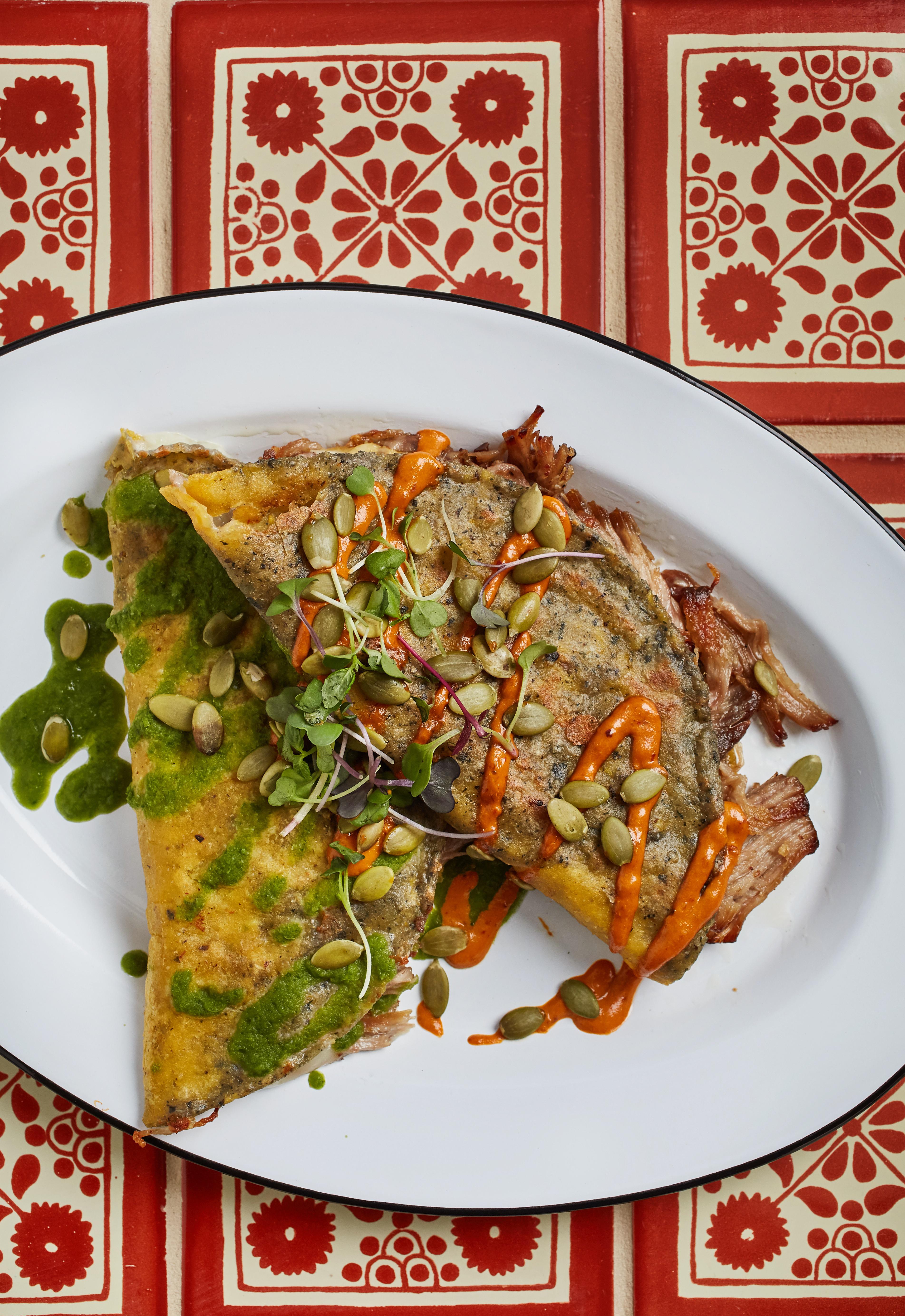 Quesadillas from Cielo Rojo