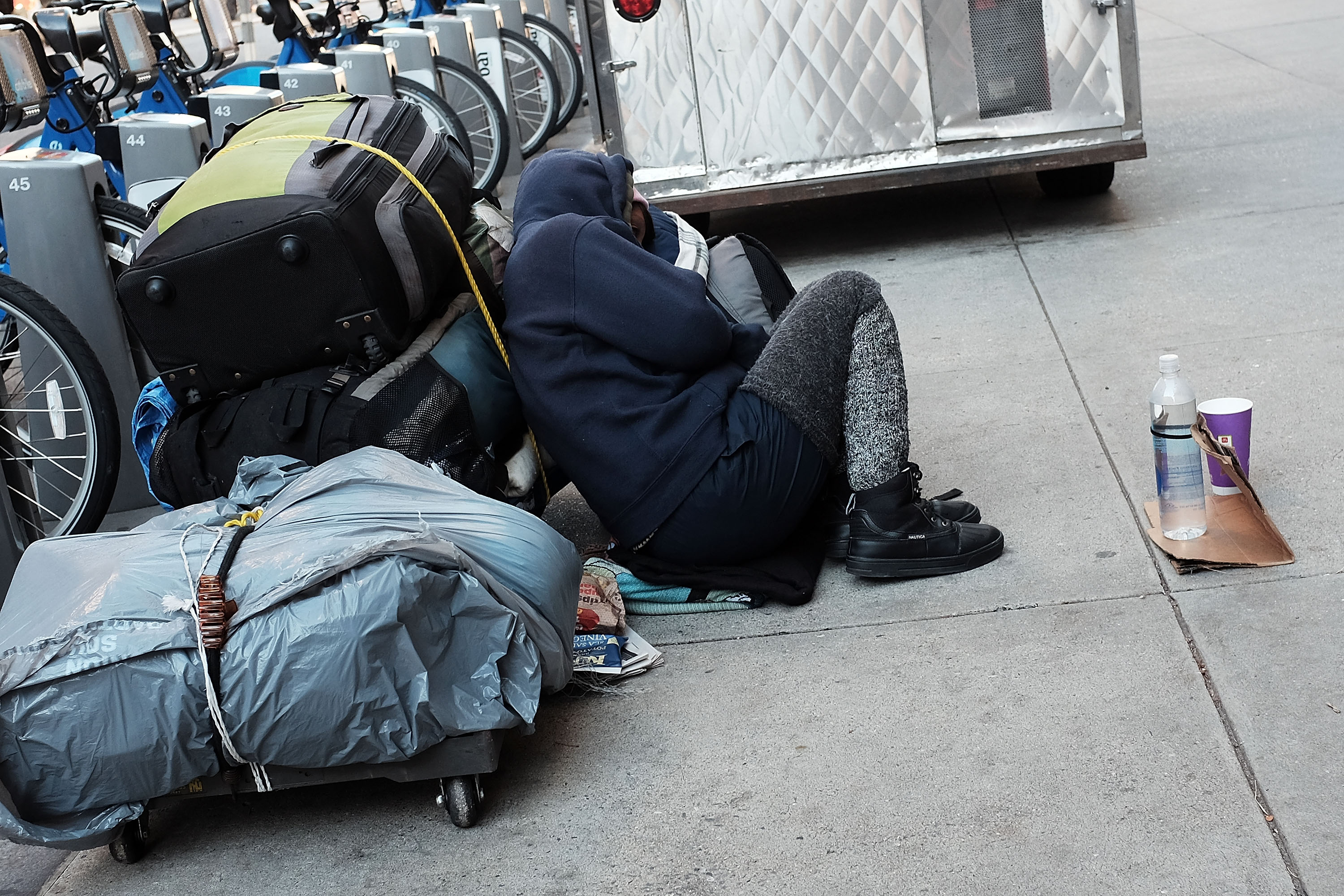 NYPD Police Chief Bratton Says Homelessness In City Has Spiked In Last Two Years