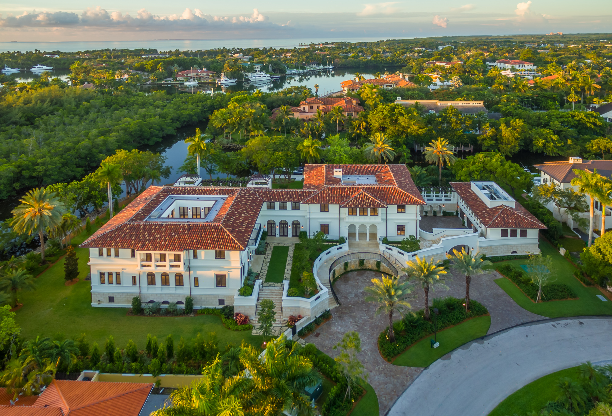 Miami's 10 biggest homes for sale, mapped
