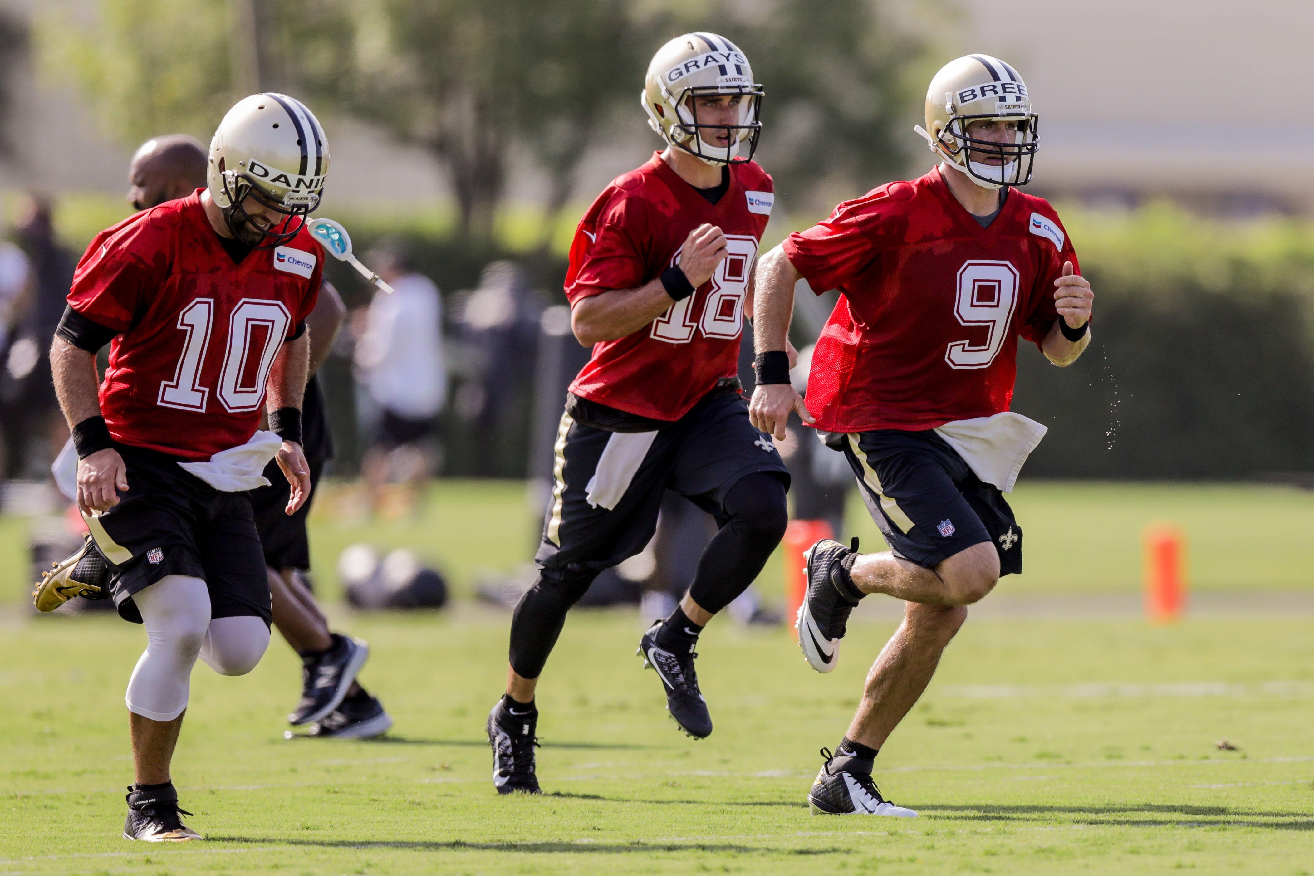 NFL: New Orleans Saints-Training Camp