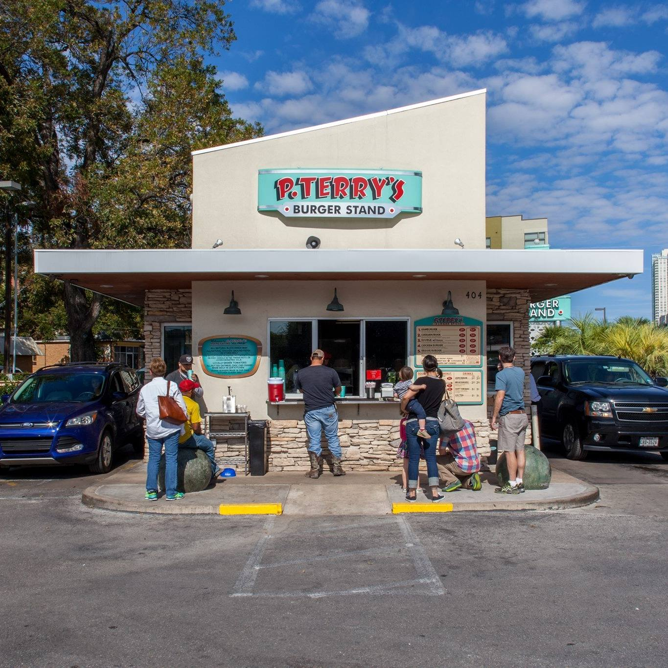 P. Terry's on Barton Springs road