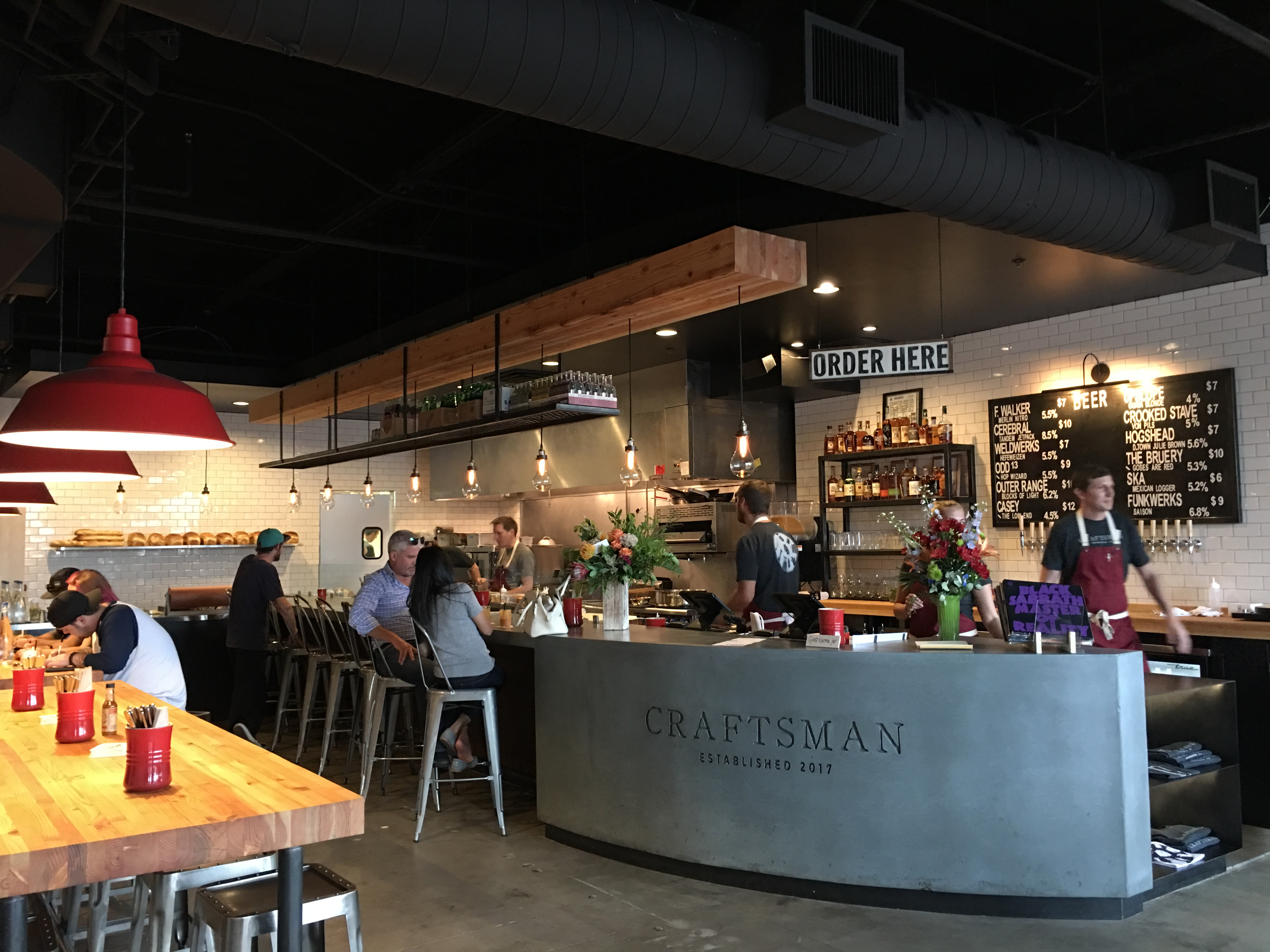 The Craftsman Now Dishes Comfort Food Beers And Whiskeys