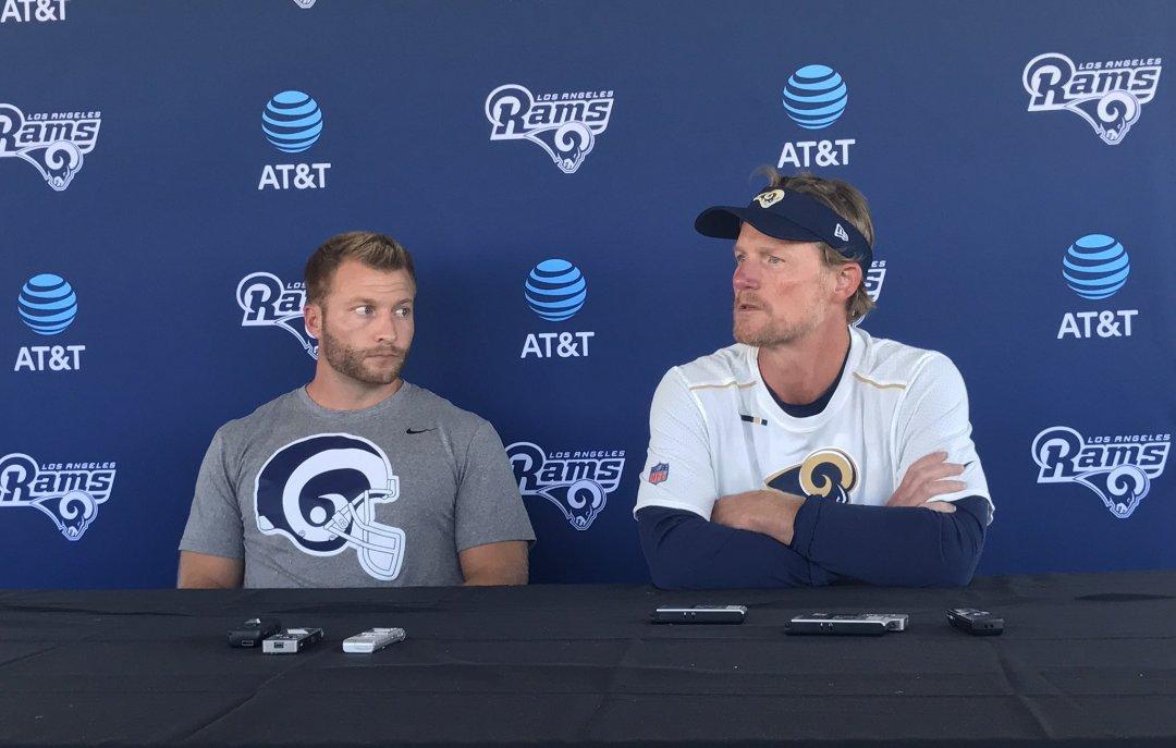 Los Angeles Rams HC Sean McVay & GM Les Snead