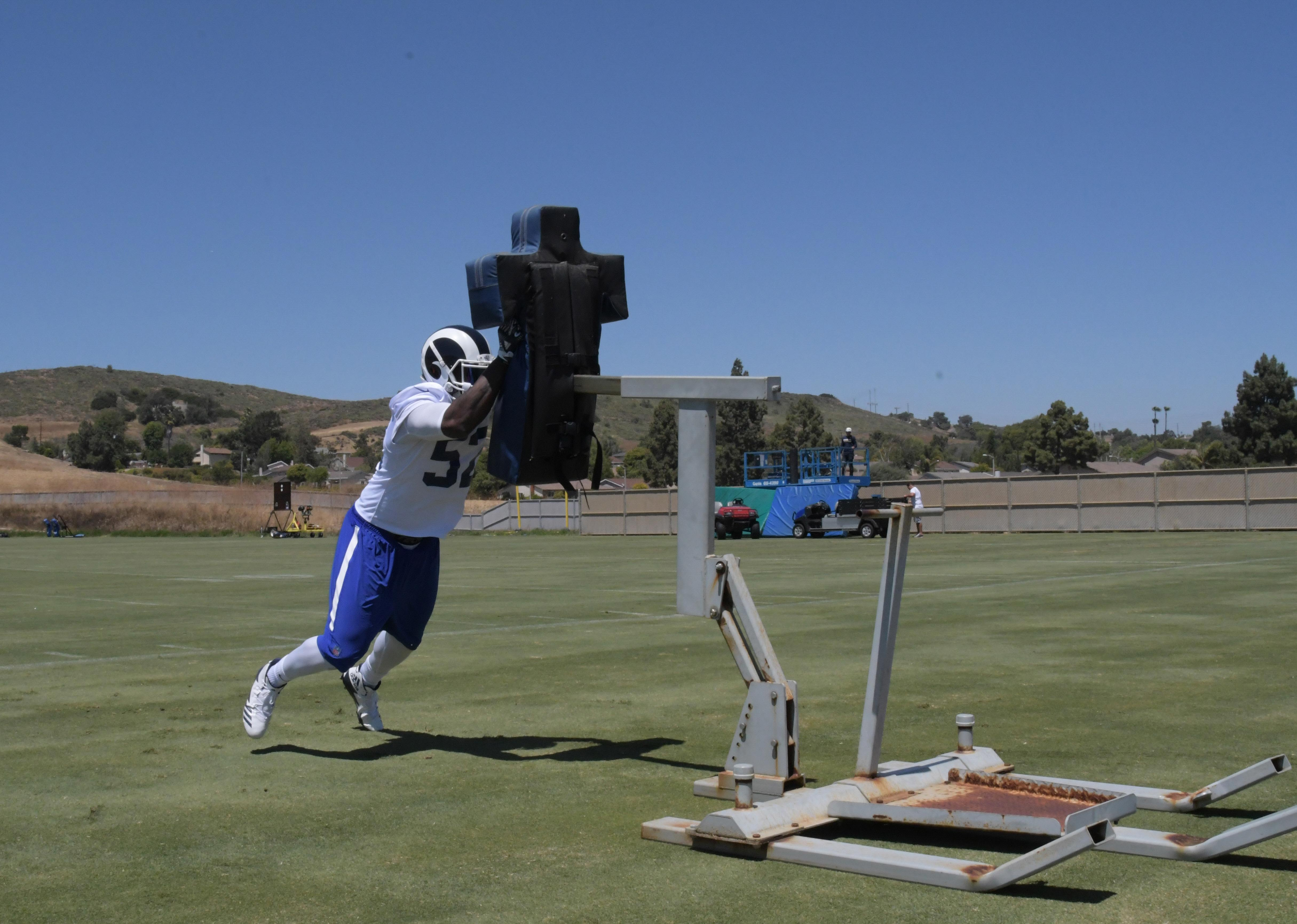Los Angeles Rams LB Alec Ogletree