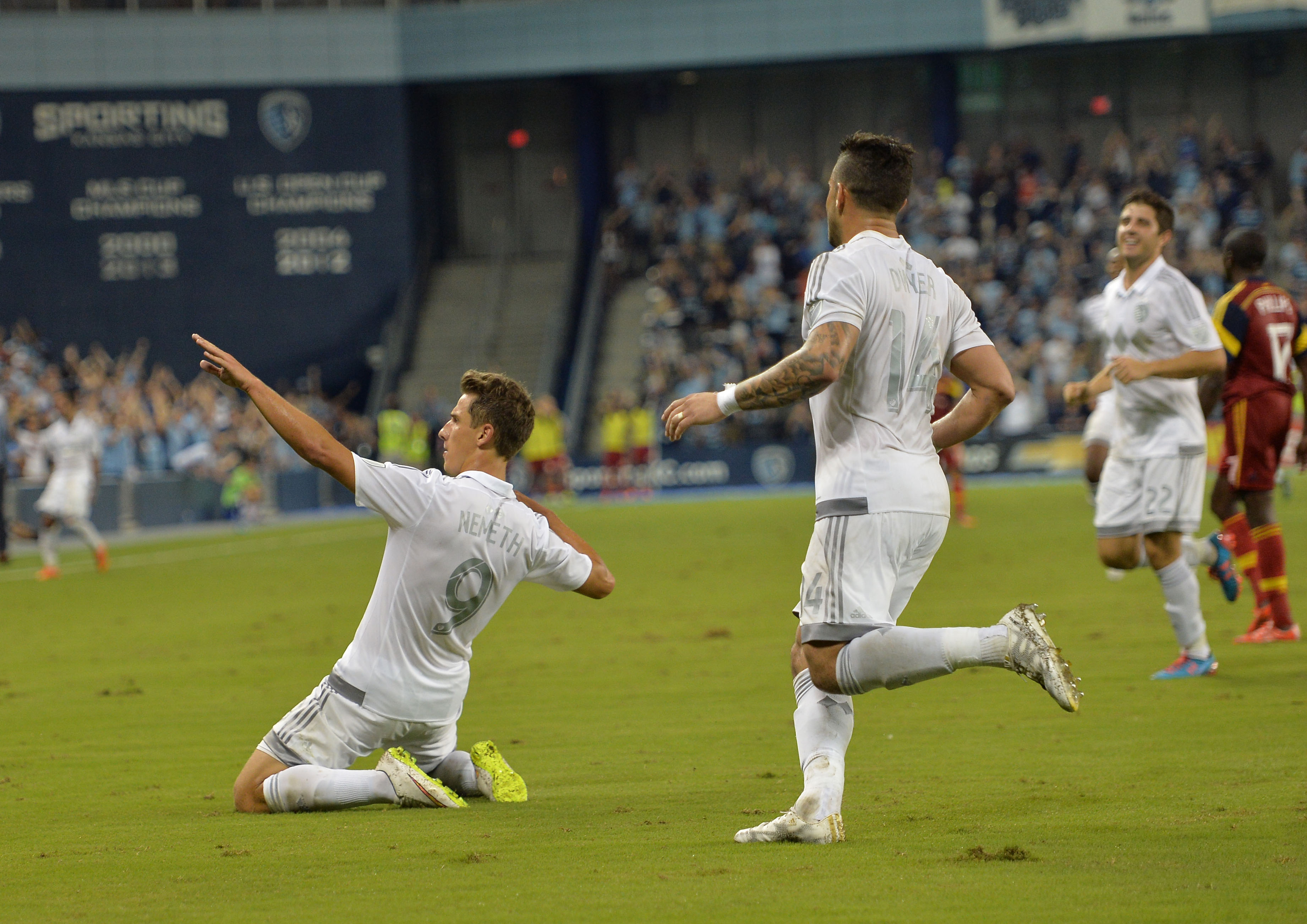 MLS: U.S. Open Cup-Real Salt Lake at Sporting Kansas City