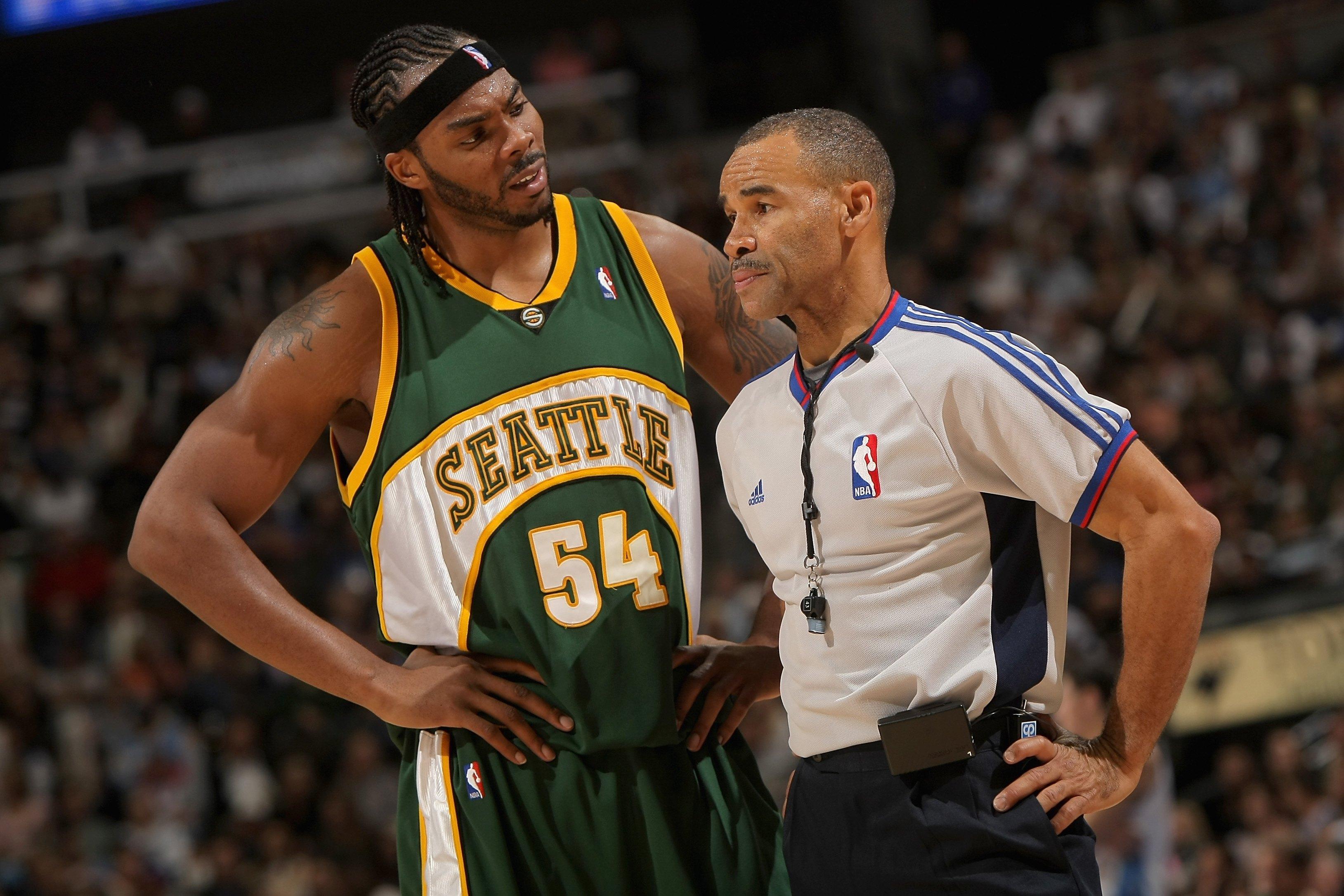 Seattle SuperSonics v Denver Nuggets