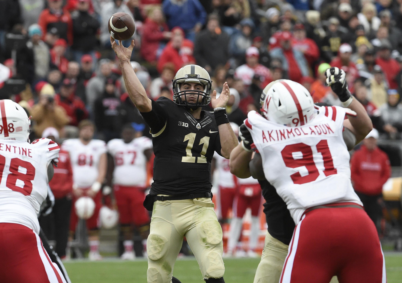 NCAA Football: Nebraska at Purdue