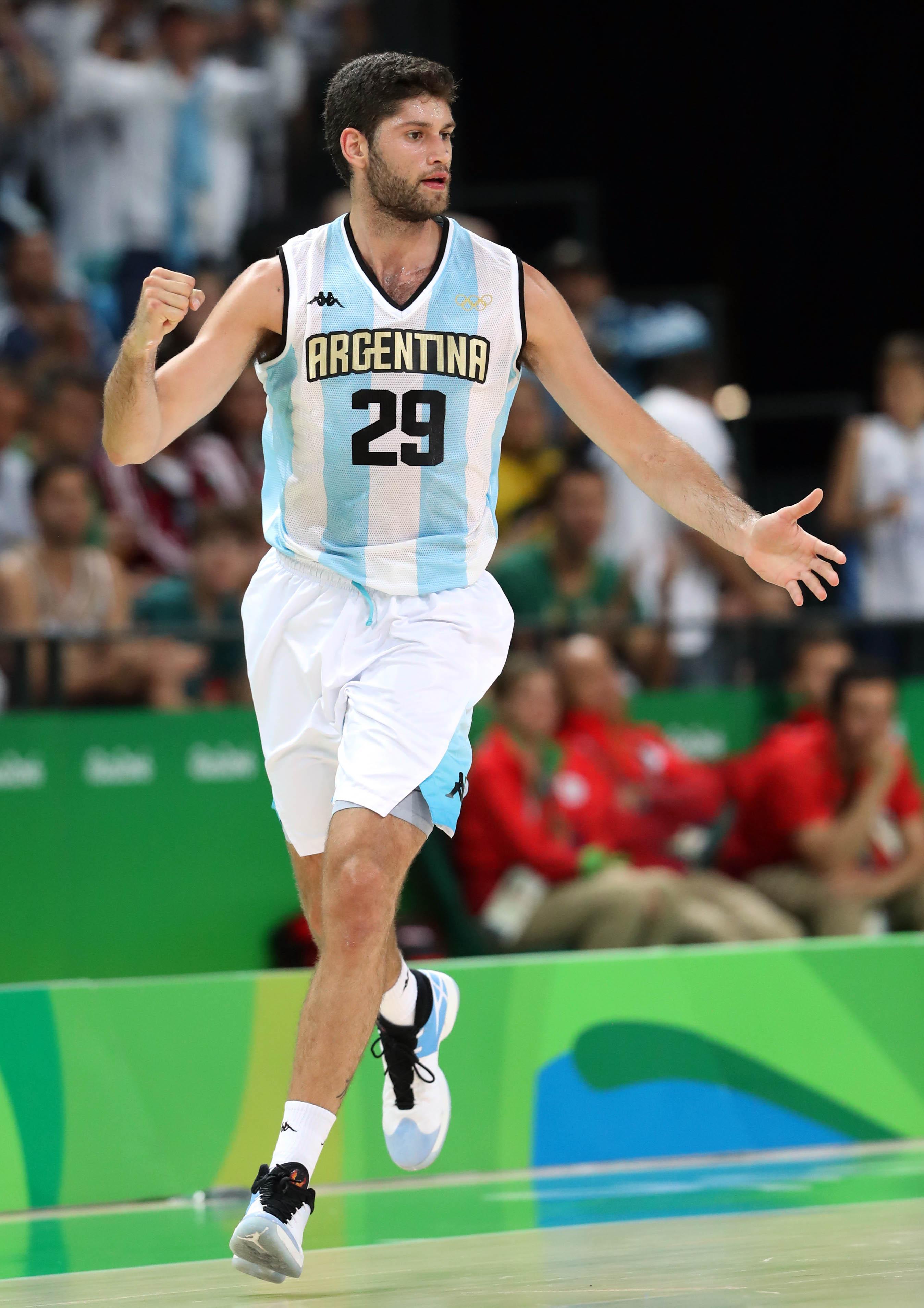 Olympics: Basketball-Men's Team-Preliminary Round ARG vs CRO