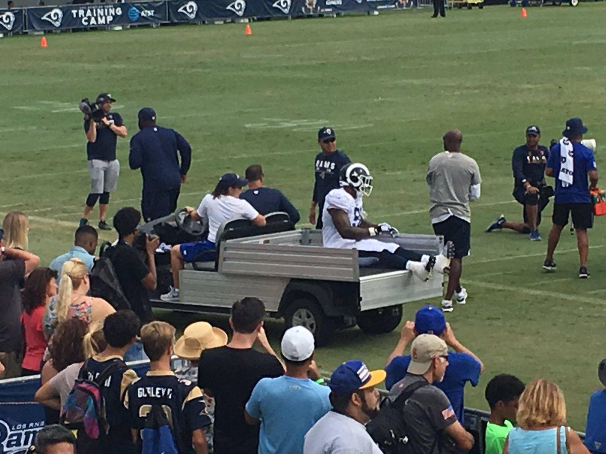 LA Rams DE Dominique Easley