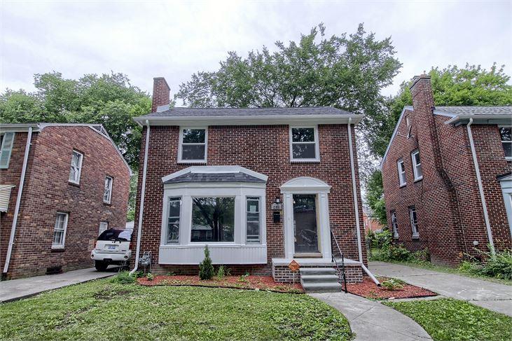 For $100K, a Rehabbed & Ready Grandmont Rosedale home