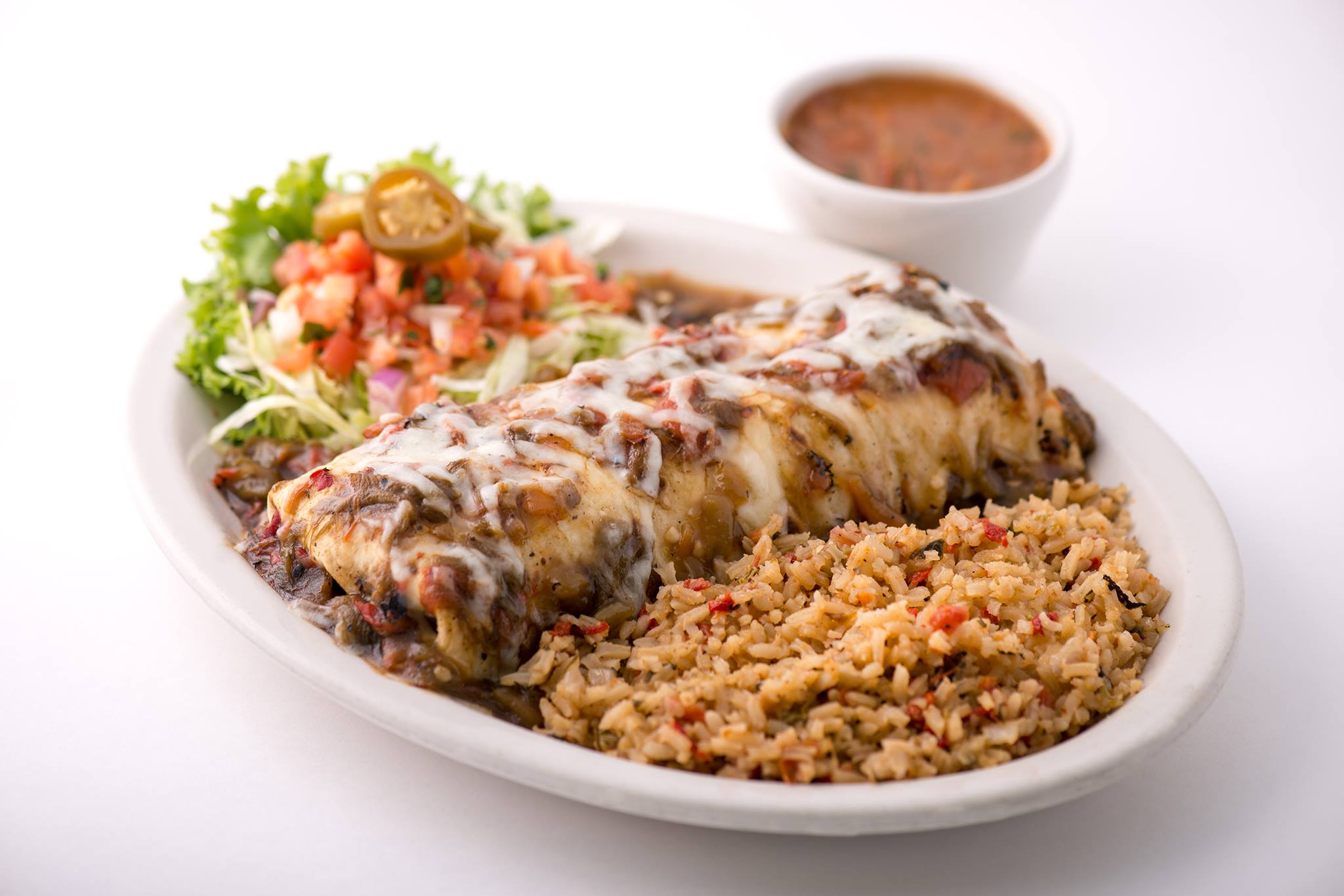A dish from Chuy's