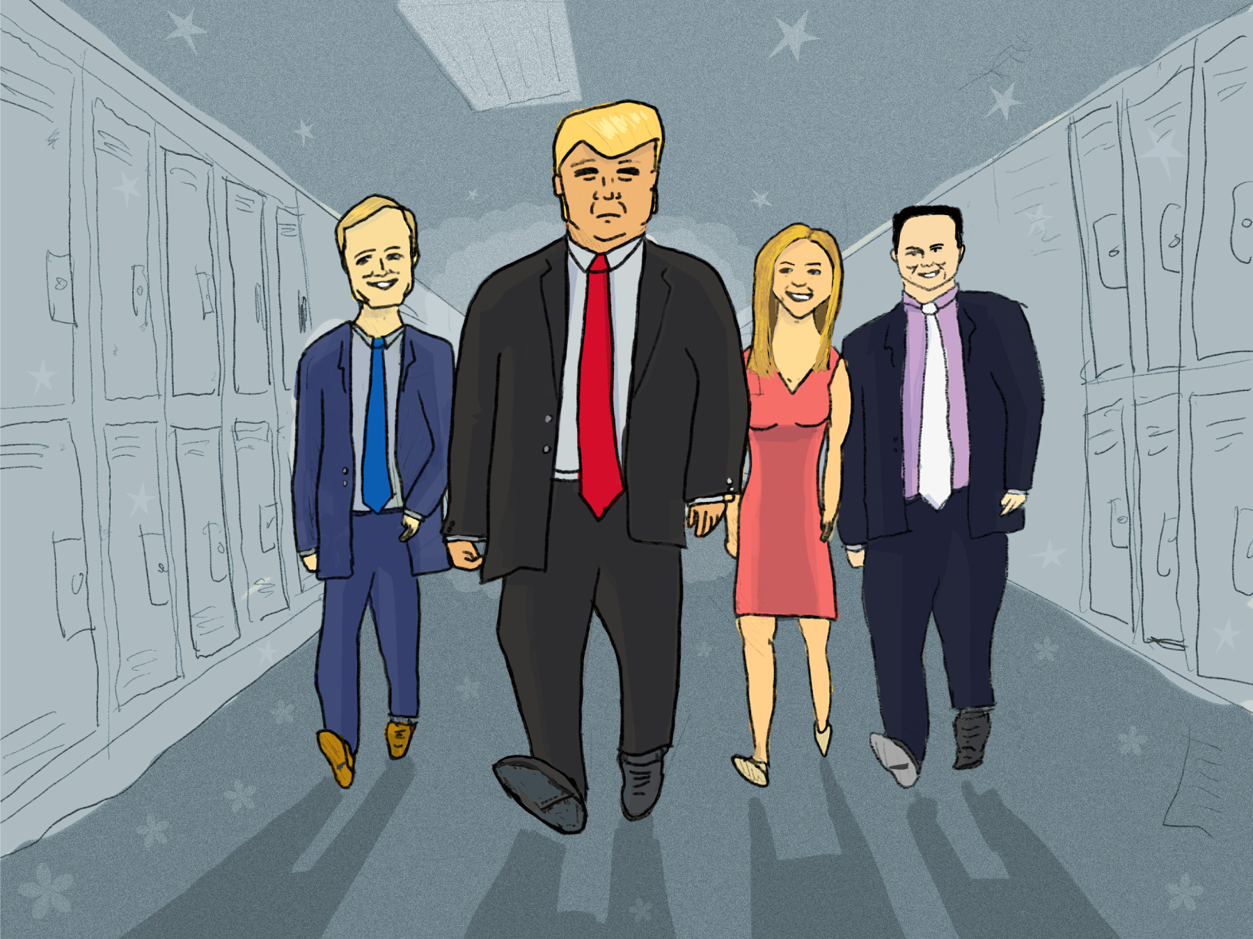 We analyzed 17 months of Fox & Friends transcripts. It's far weirder than state-run media.