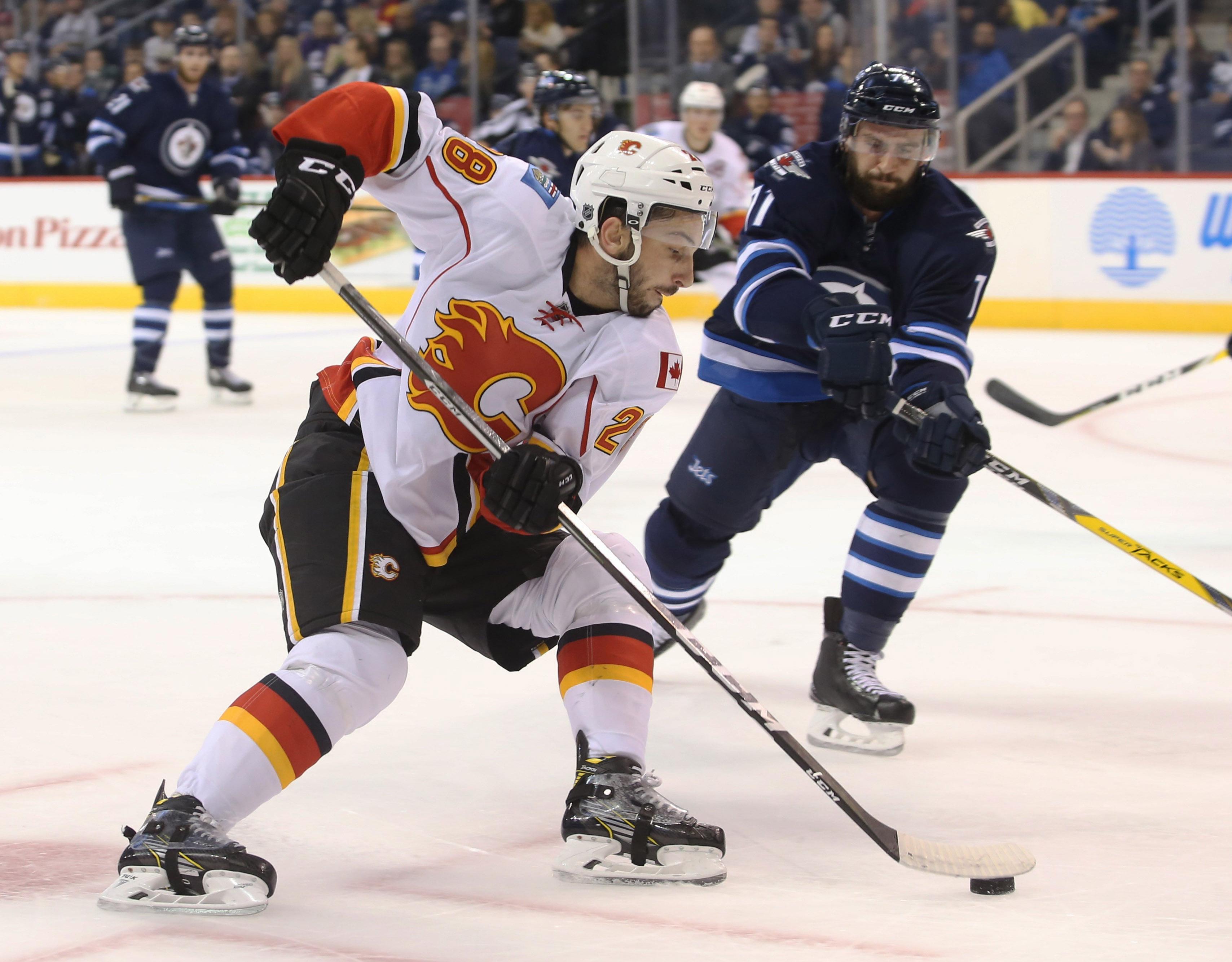 NHL: Preseason-Calgary Flames at Winnipeg Jets