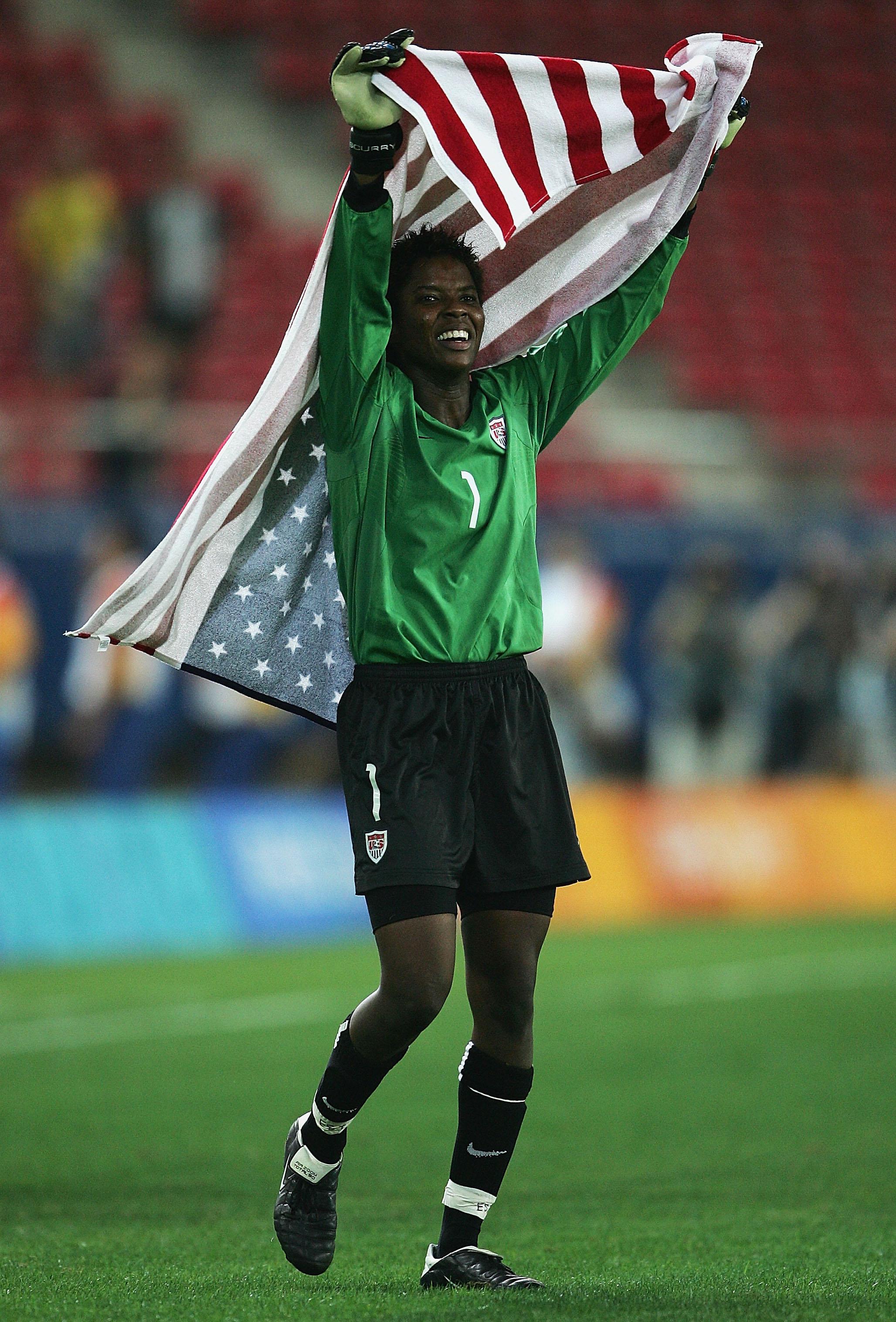 Womens Football Gold Contest USA v BRA