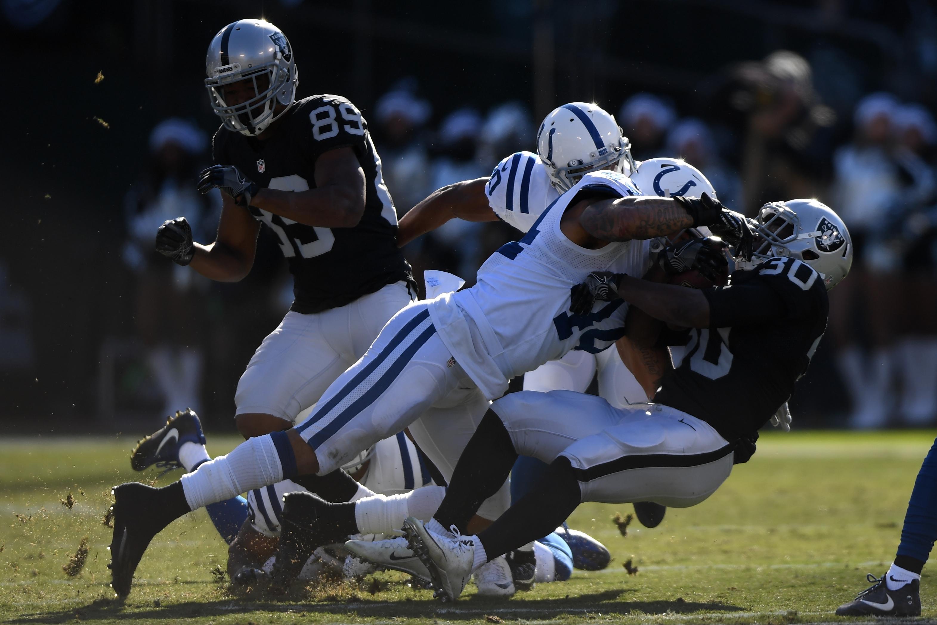 Indianapolis Colts v Oakland Raiders