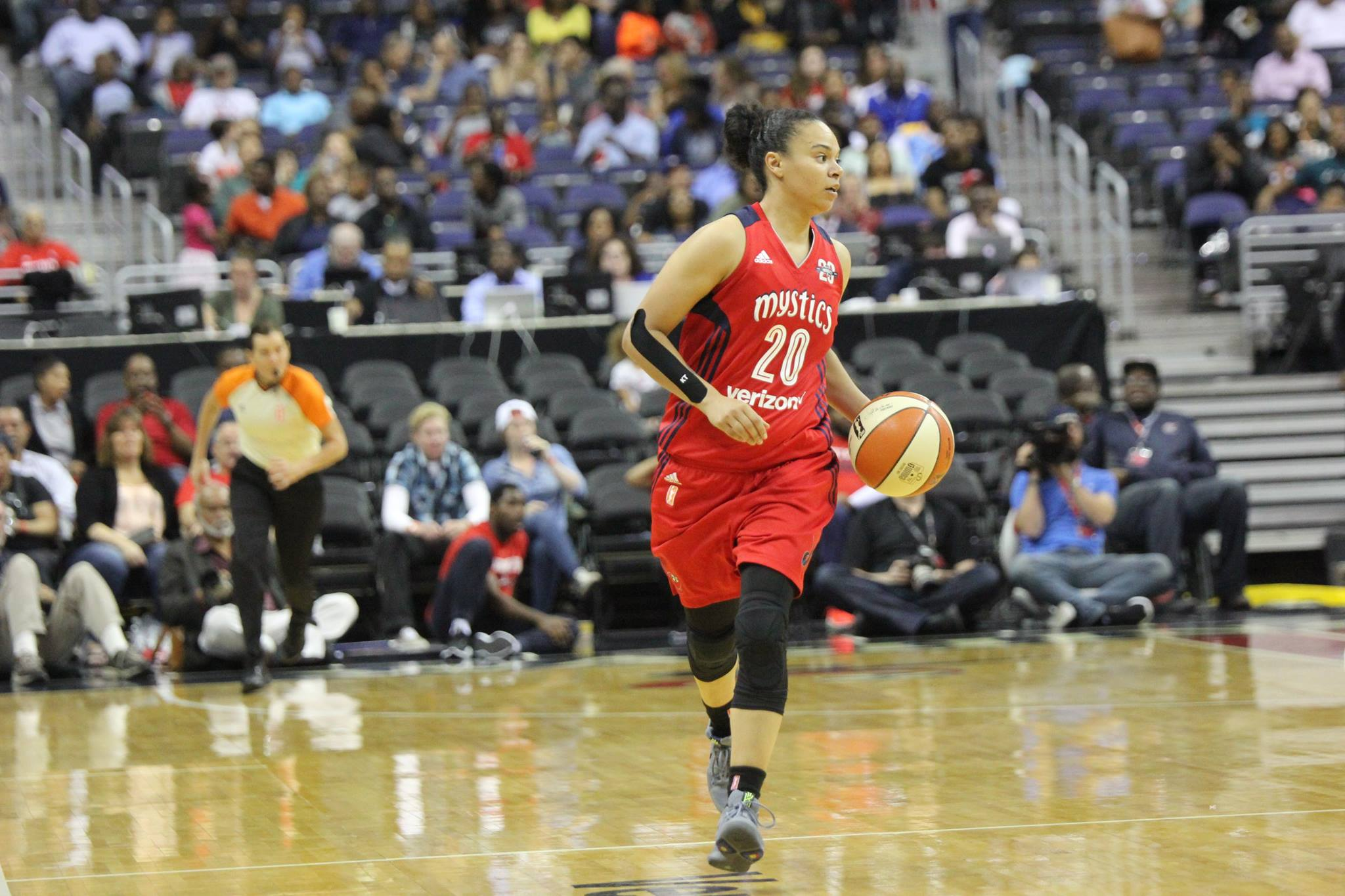 The Mystics will need All Star Toliver down the stretch.