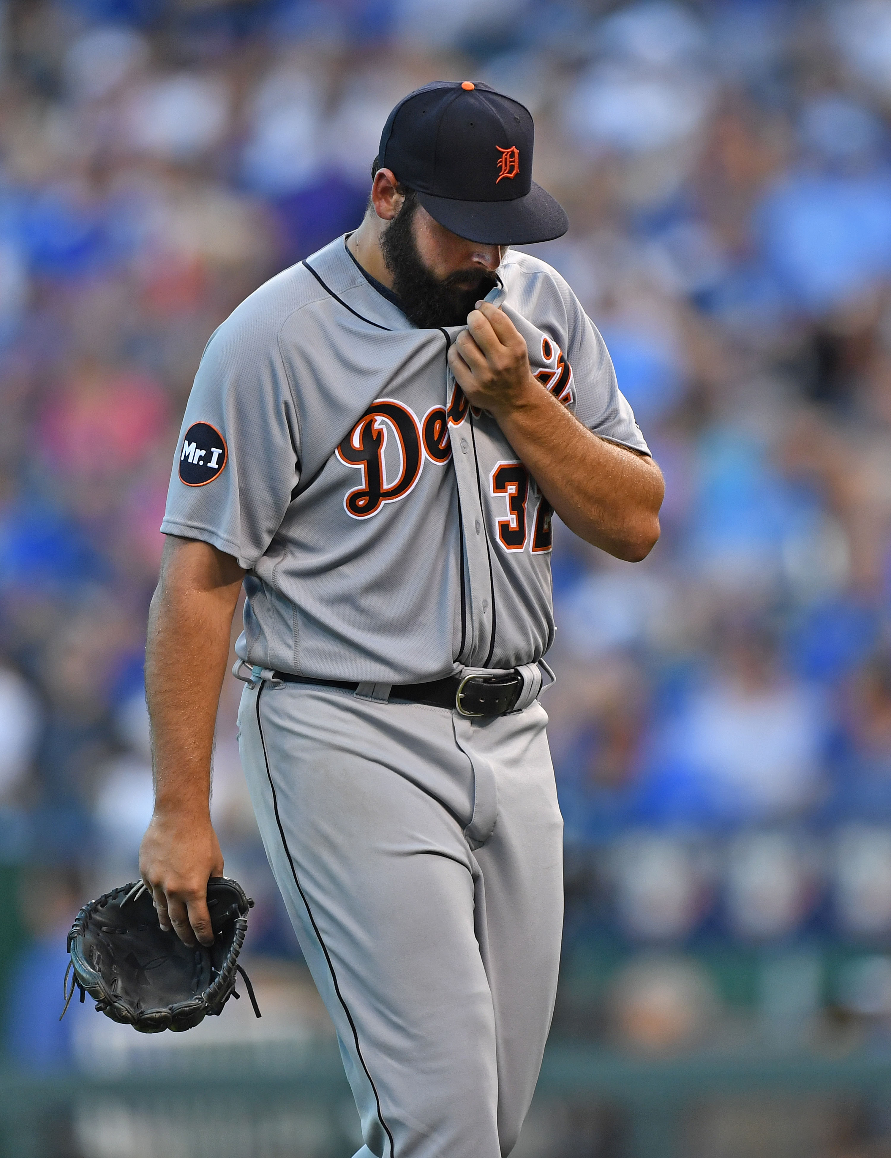 MLB: Detroit Tigers at Kansas City Royals