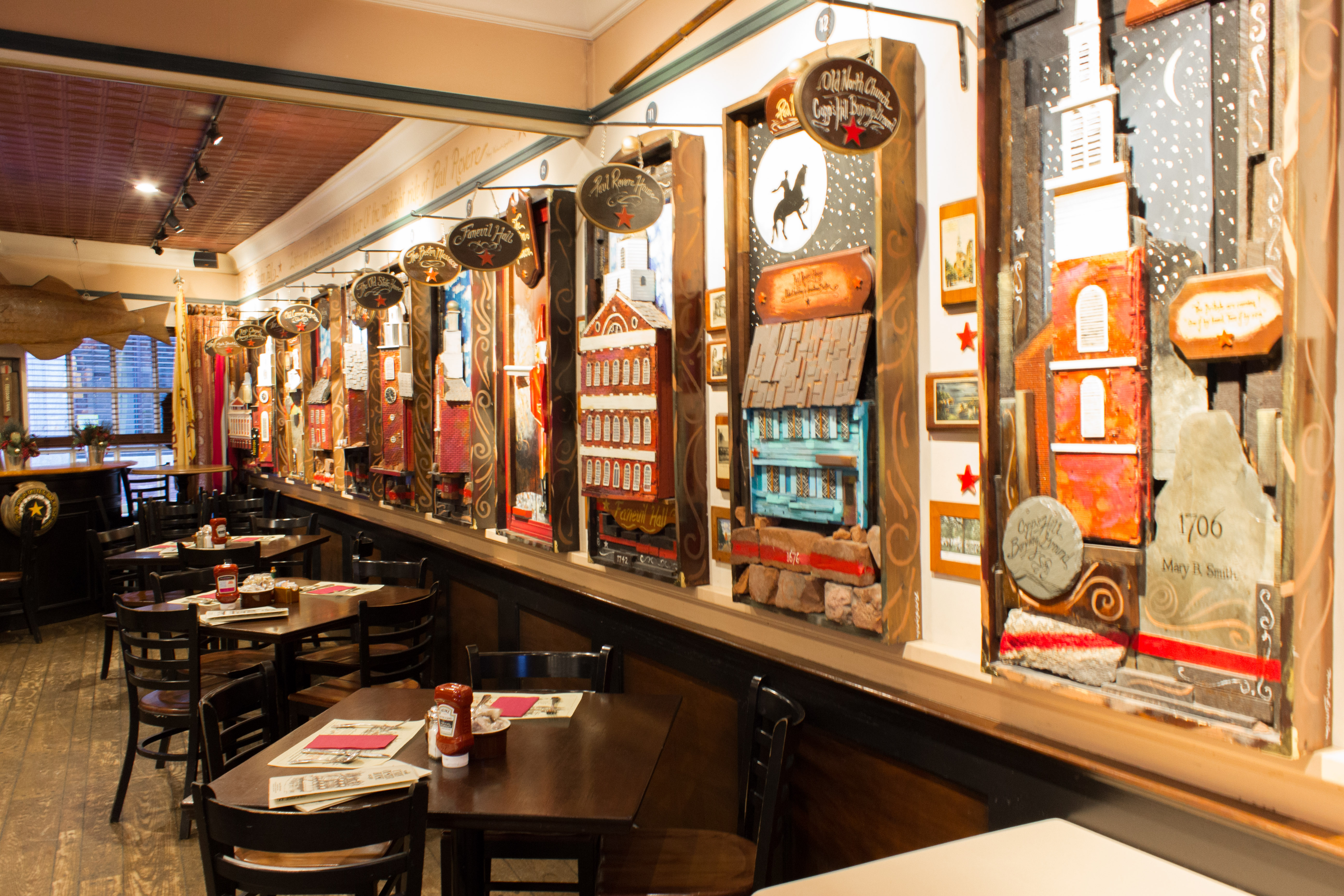 A Trip to America's Oldest Restaurant, Union Oyster House