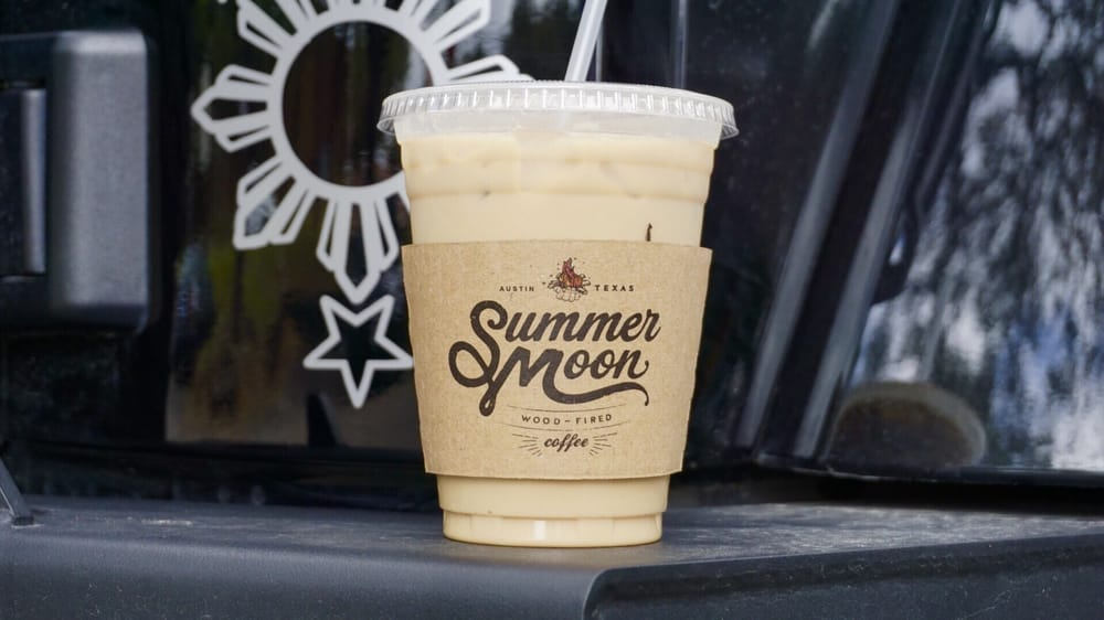 Summer Moon Coffee's winter latte