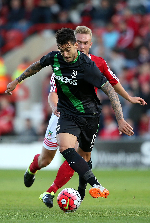 Wrexham v Stoke City - Pre Season Friendly