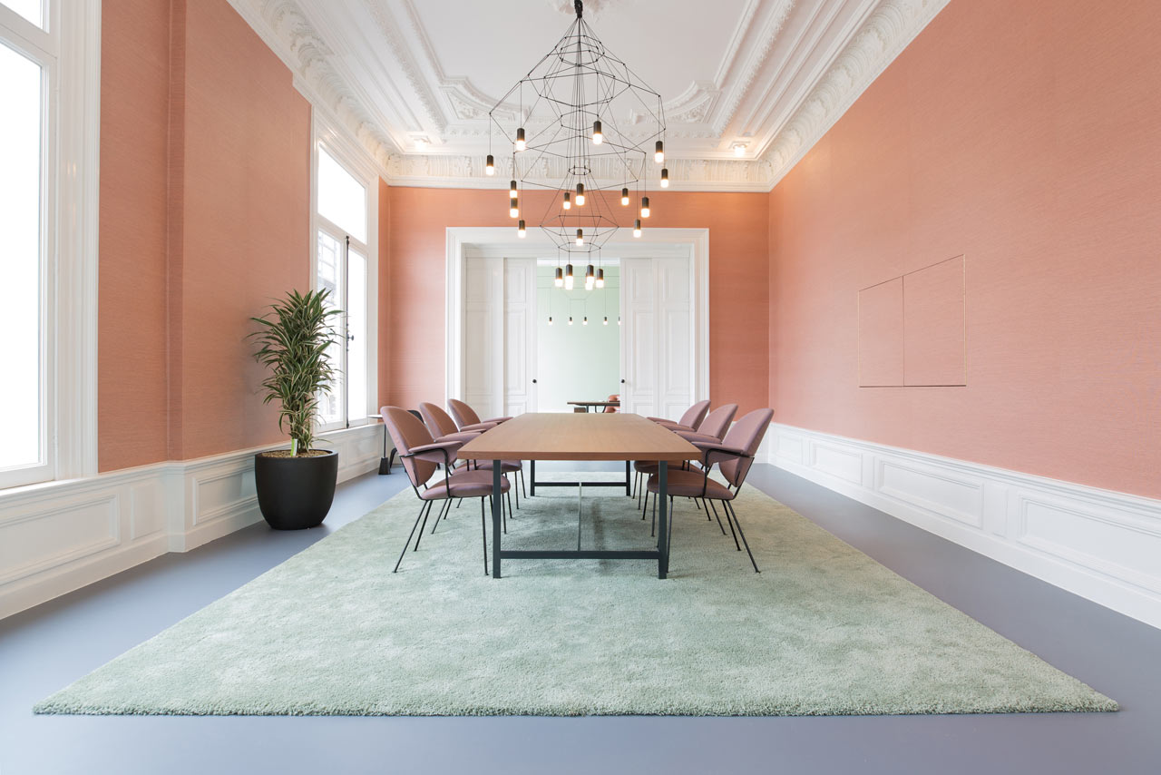 Former Bank Transformed Into Swoon Worthy Office In Rotterdam. Local Interior  Design ...