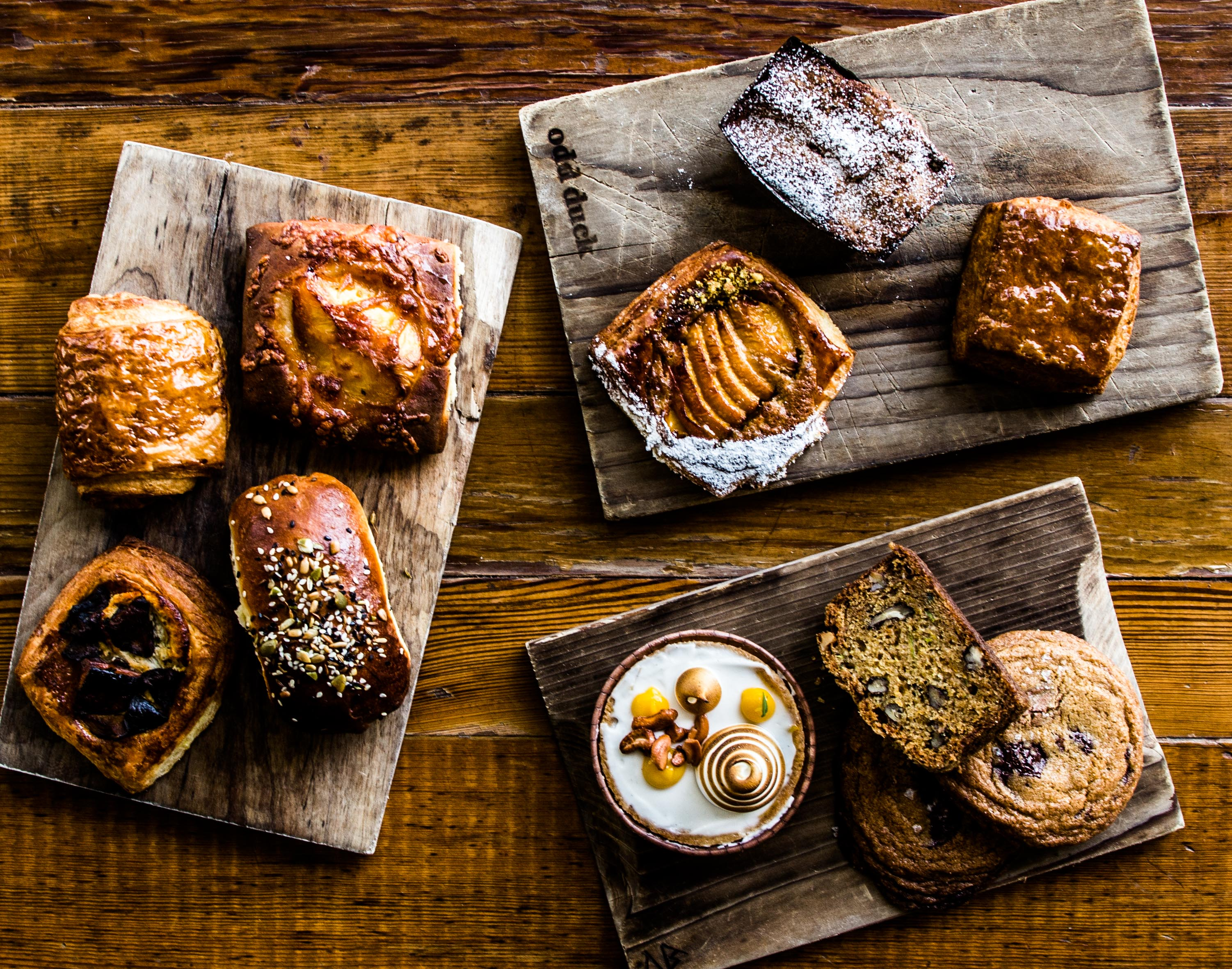 Sour Duck's pastries
