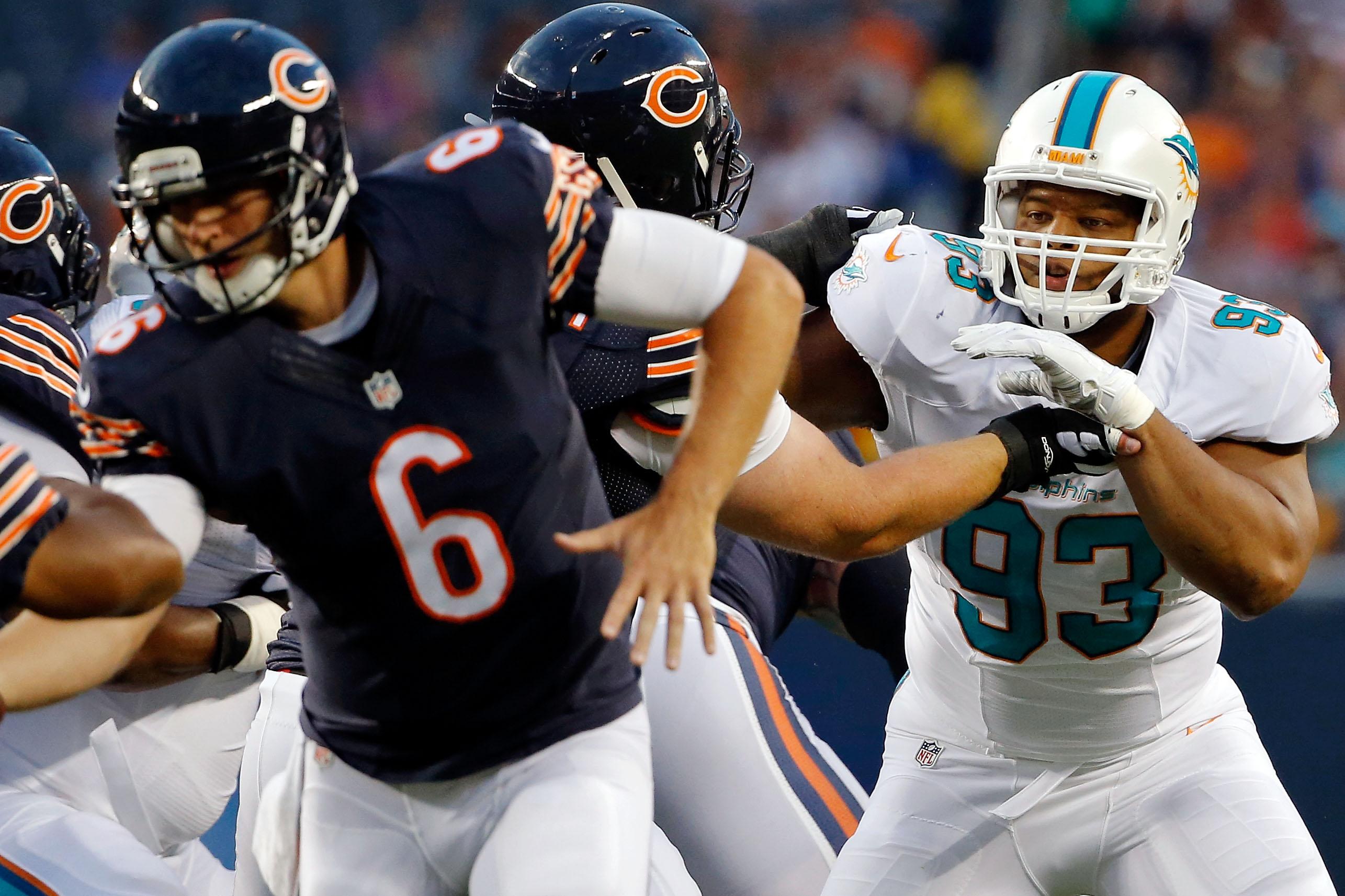 NFL: Preseason-Miami Dolphins at Chicago Bears