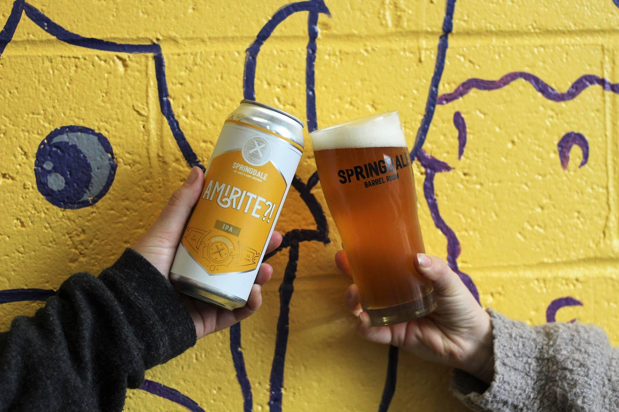 Sour Beer Fans: Springdale Barrel Room Is Beginning Distribution