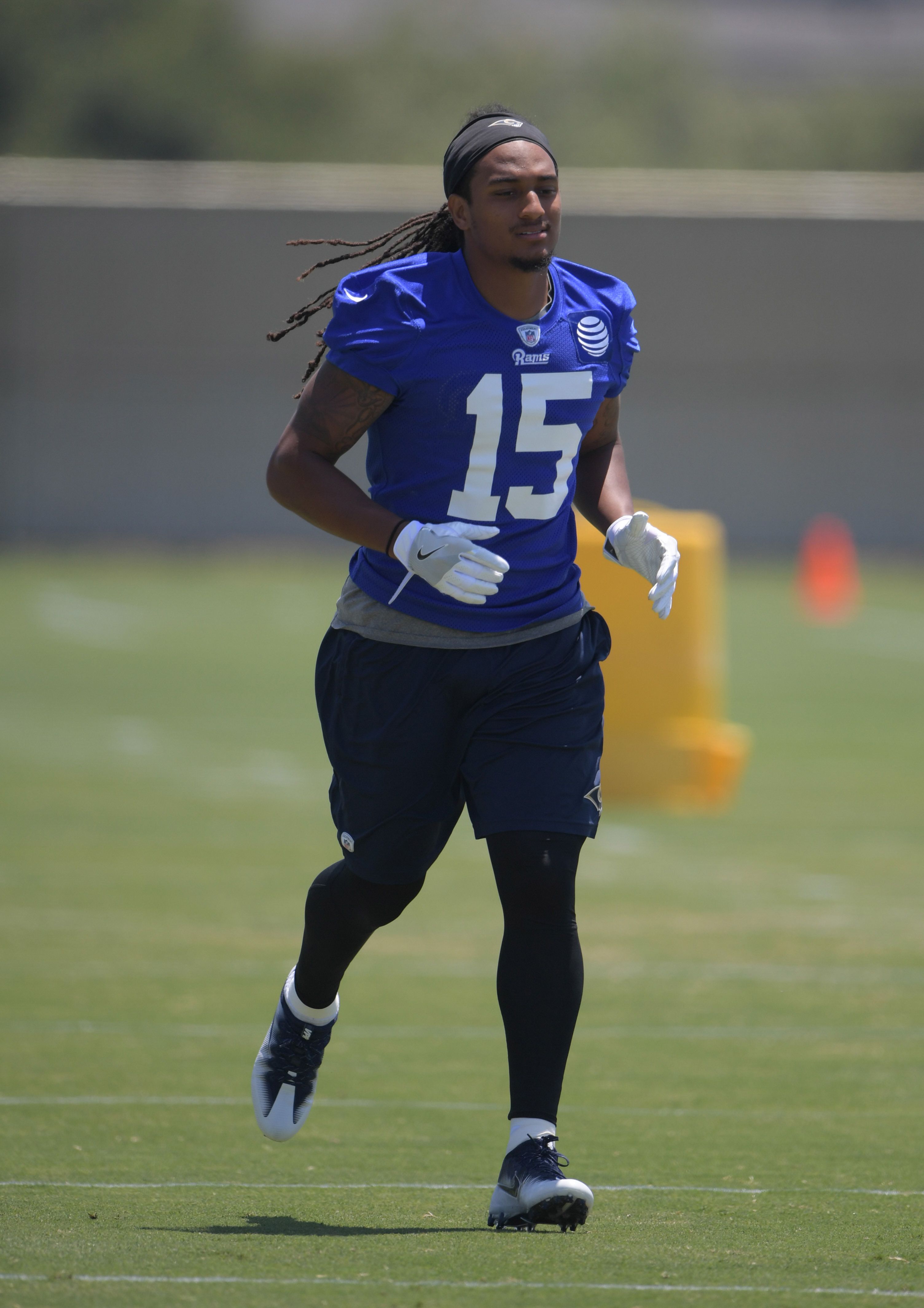 Los Angeles Rams WR Bradley Marquez
