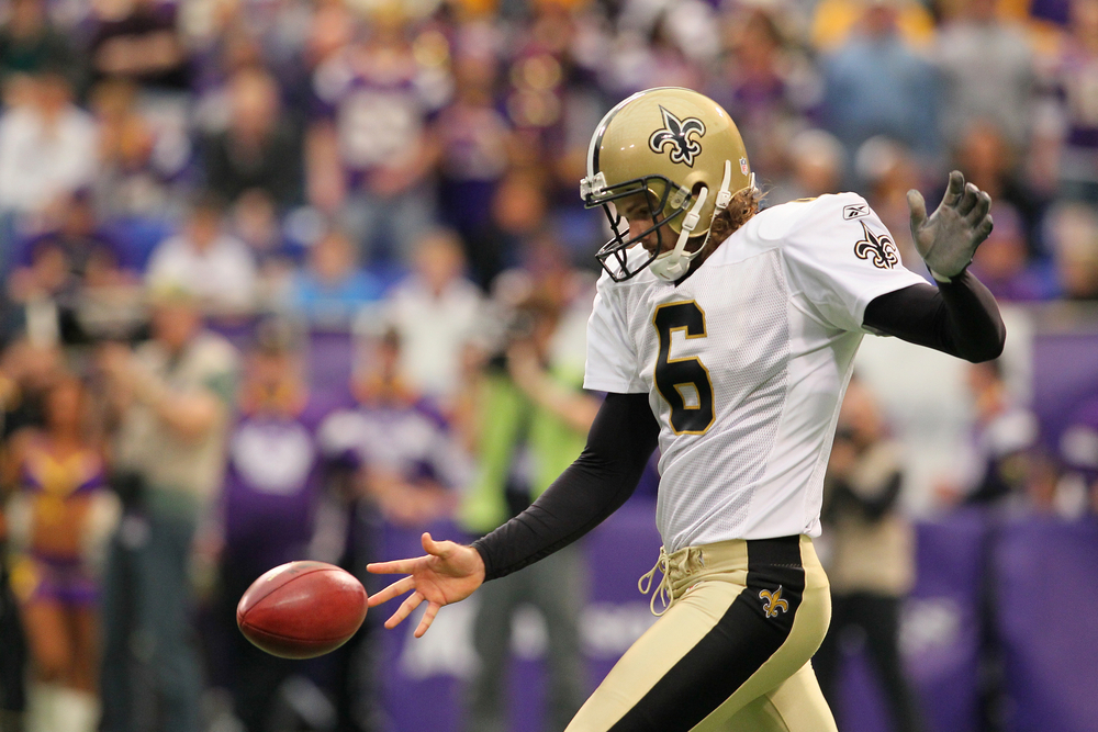 Saints punter Thomas Morstead has been named to the 2013 Pro Bowl.