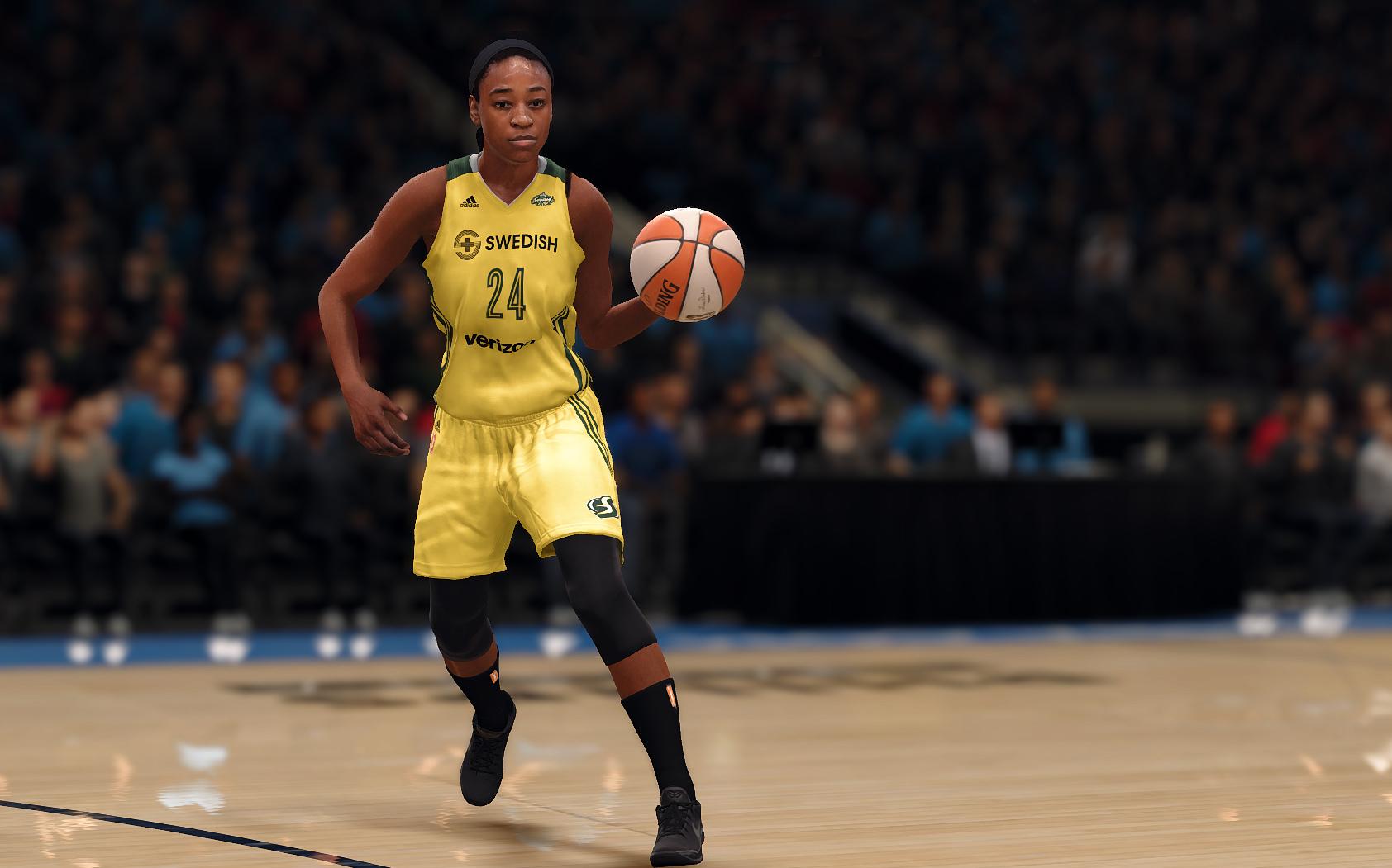 Jewell Loyd, NBA Live 18, EA Sports