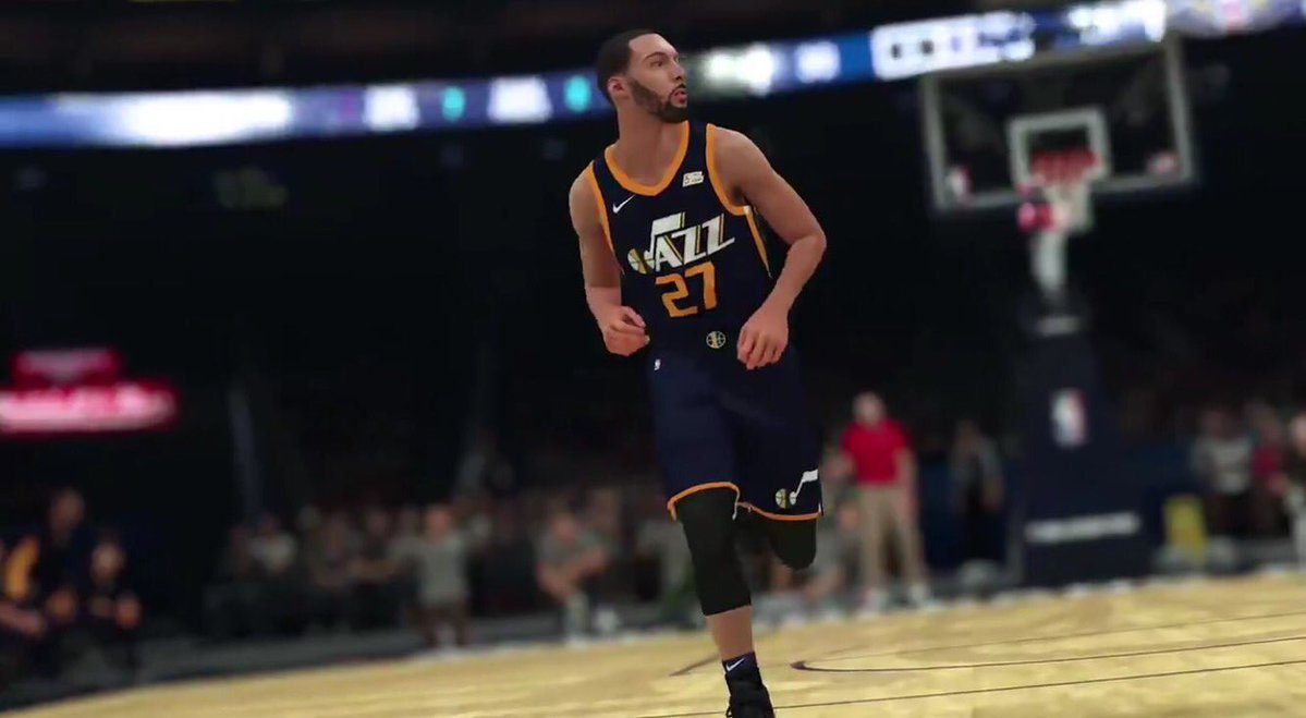 2228fa5a96a Revealed  Utah Jazz Nike Jersey unveiled by NBA2K trailer