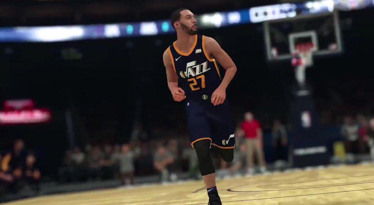 05b2574f3 Revealed  Utah Jazz Nike Jersey unveiled by NBA2K trailer
