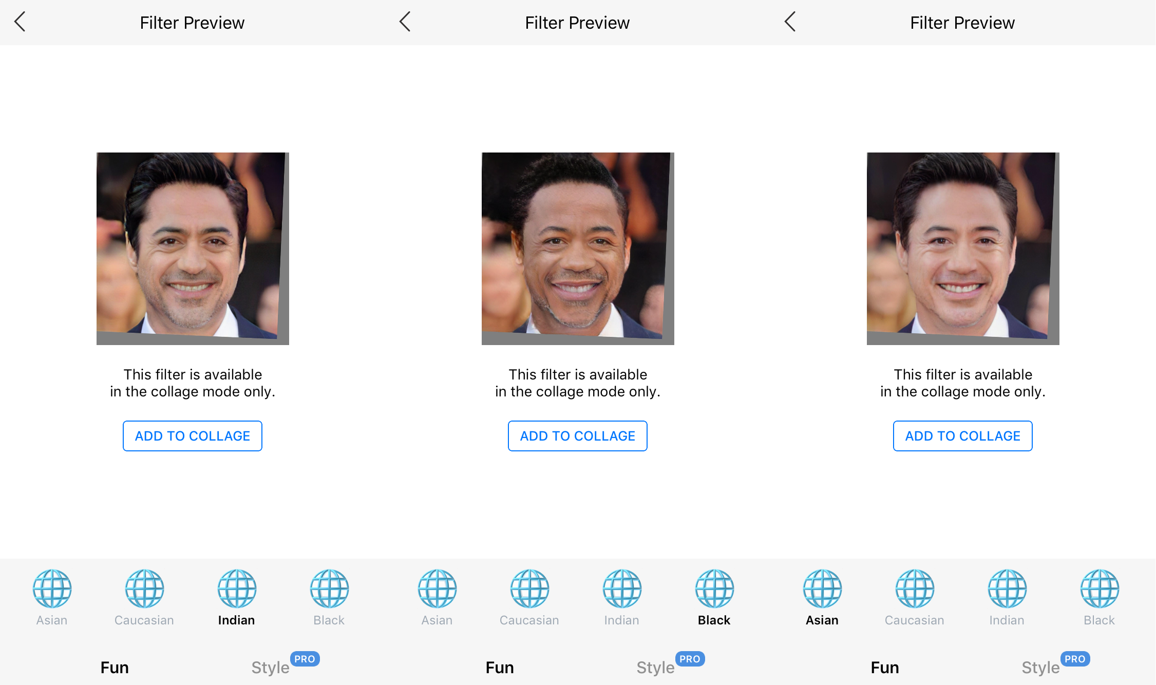 Popular face-aging app now offers 'Black,' 'Indian,' and