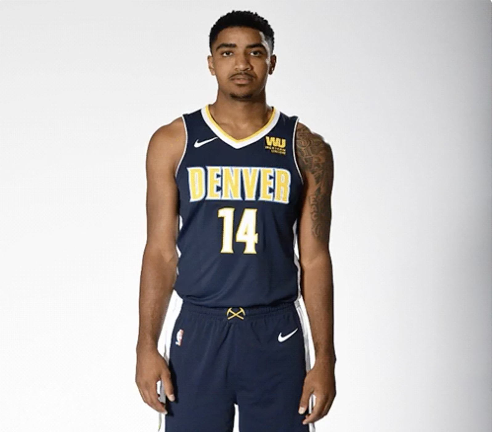 Nuggets English Jersey: A Look Back At Denver Nuggets' History